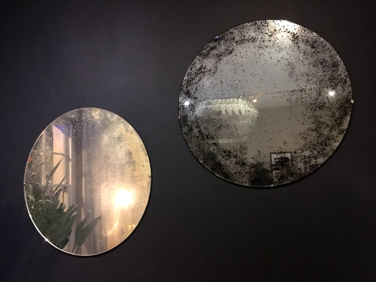 Aged mirrors in the Houzz of 2018