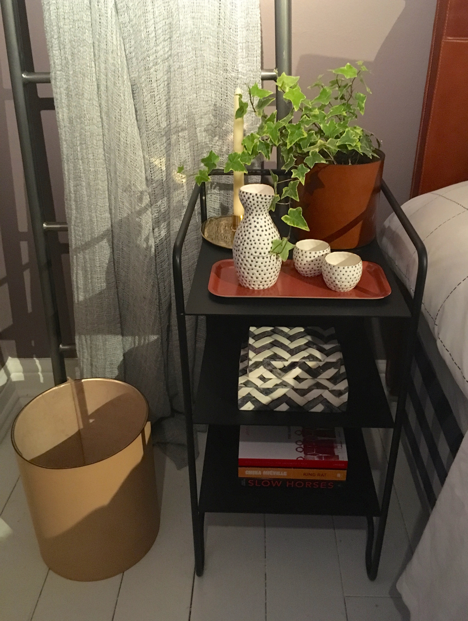 Bedside table in the Houzz of 2018