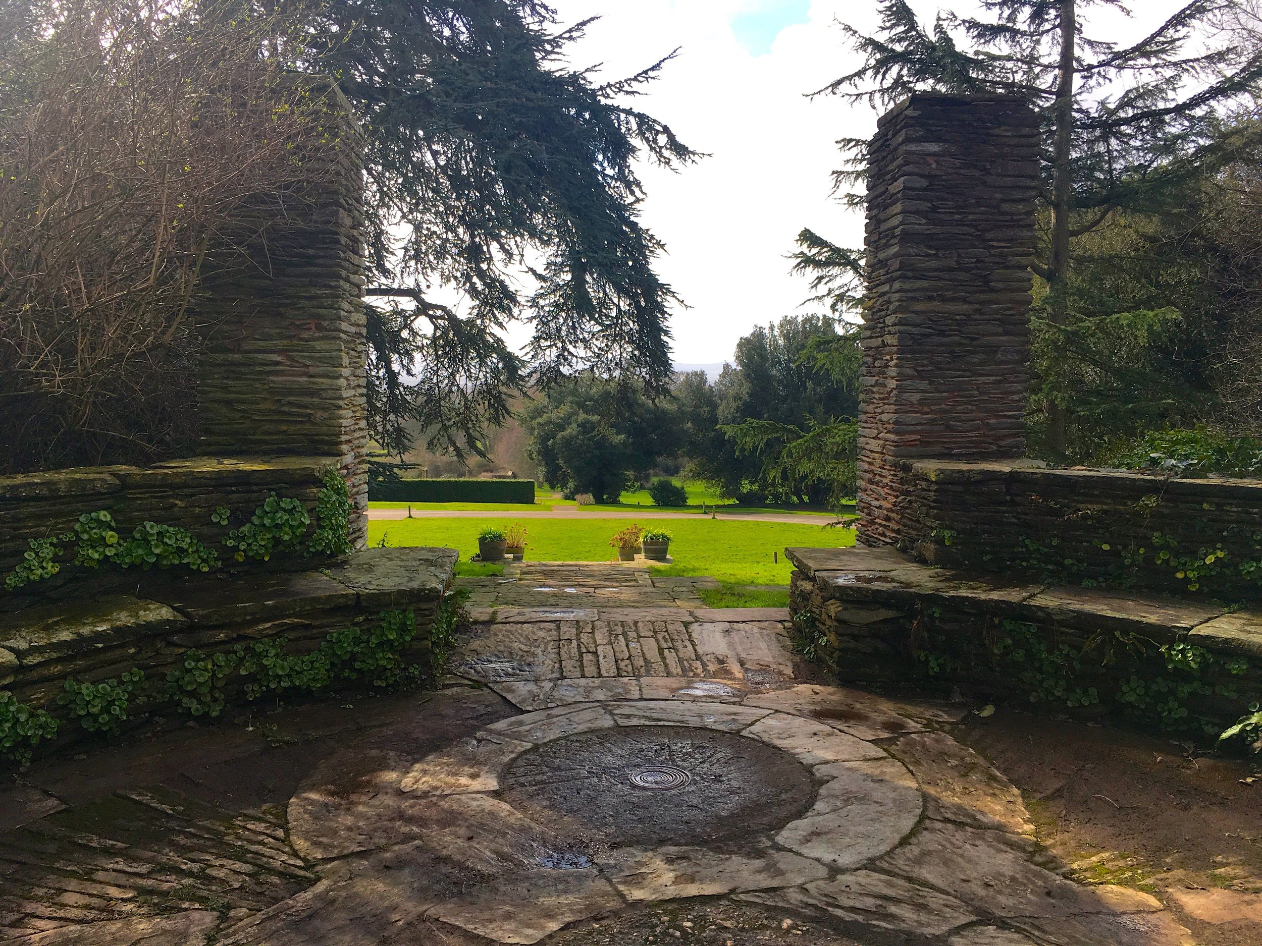 A glimpse of the gardens at Hestercombe