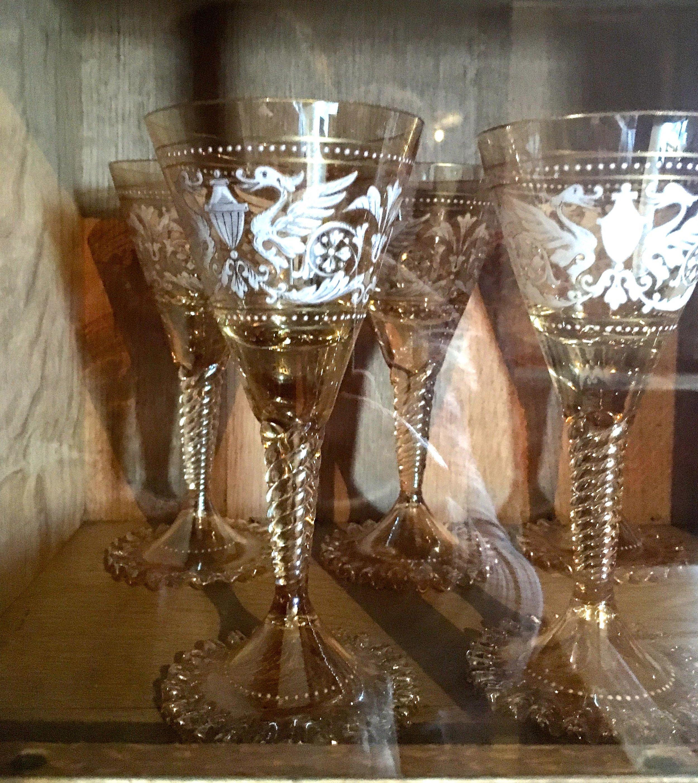 EXQUISITE GLASSWARE AT CASTLE DROGO