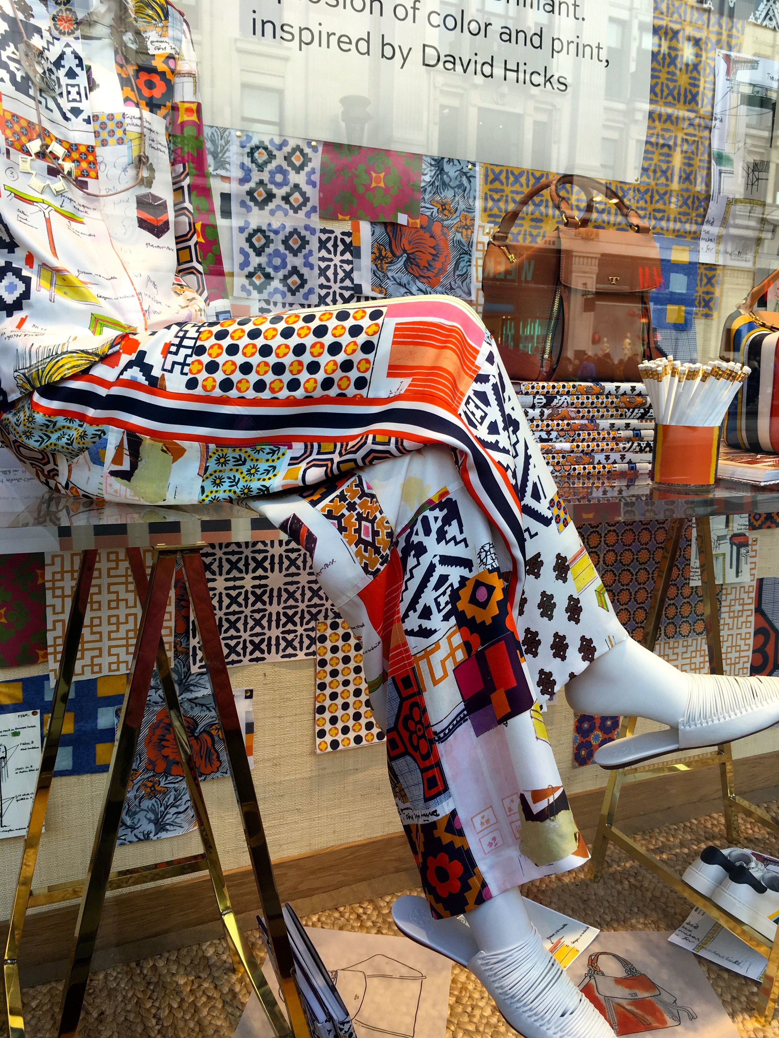 patterns and colours galore in London's Regent Street