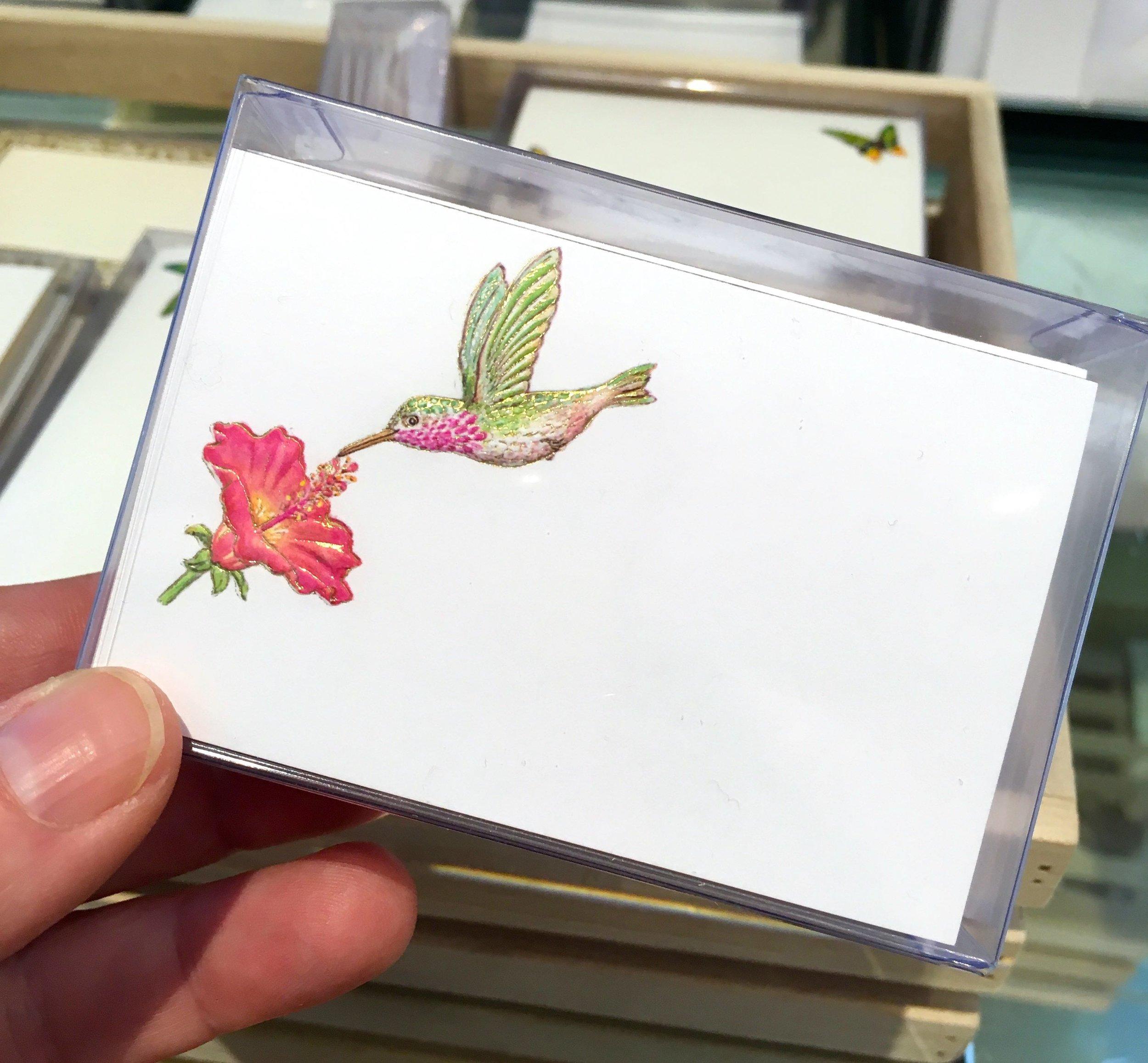 miniature and exquisite cards