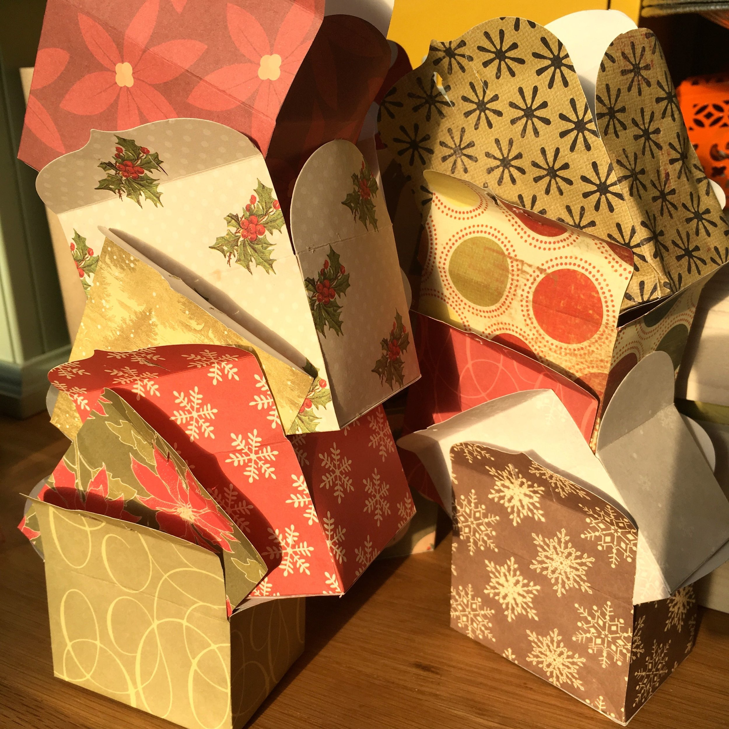 Remember those advent calendar boxes?