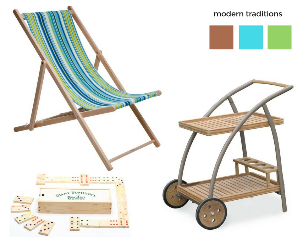 2 modern traditions  - items from Wayfair