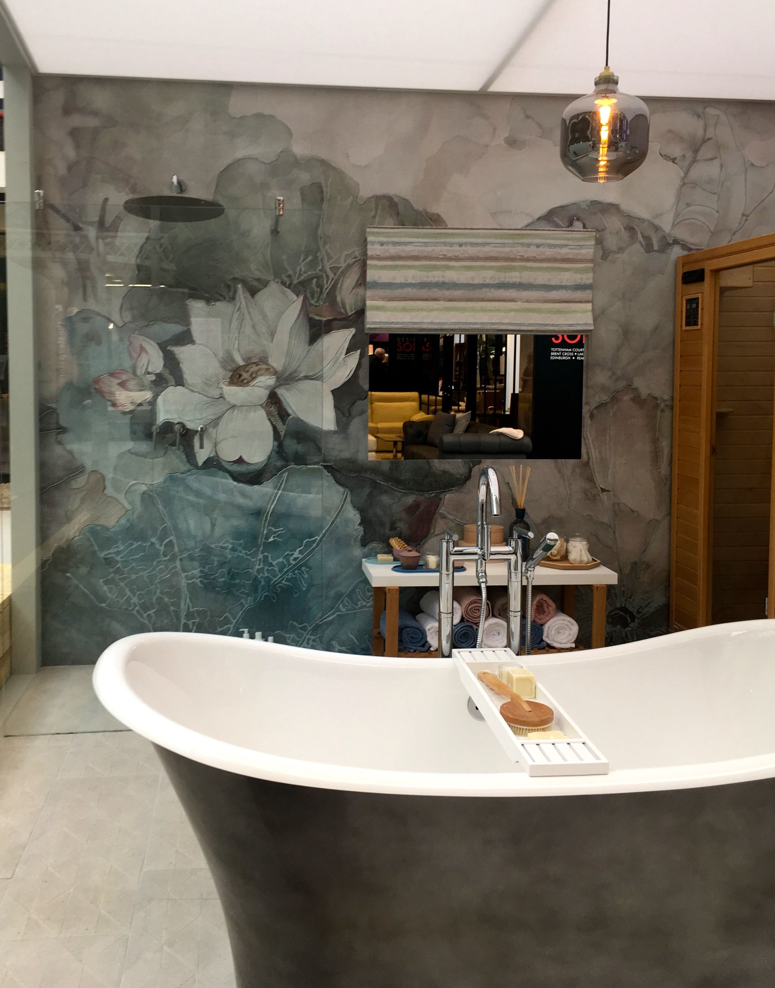 A stunning bathroom at the ideal home show
