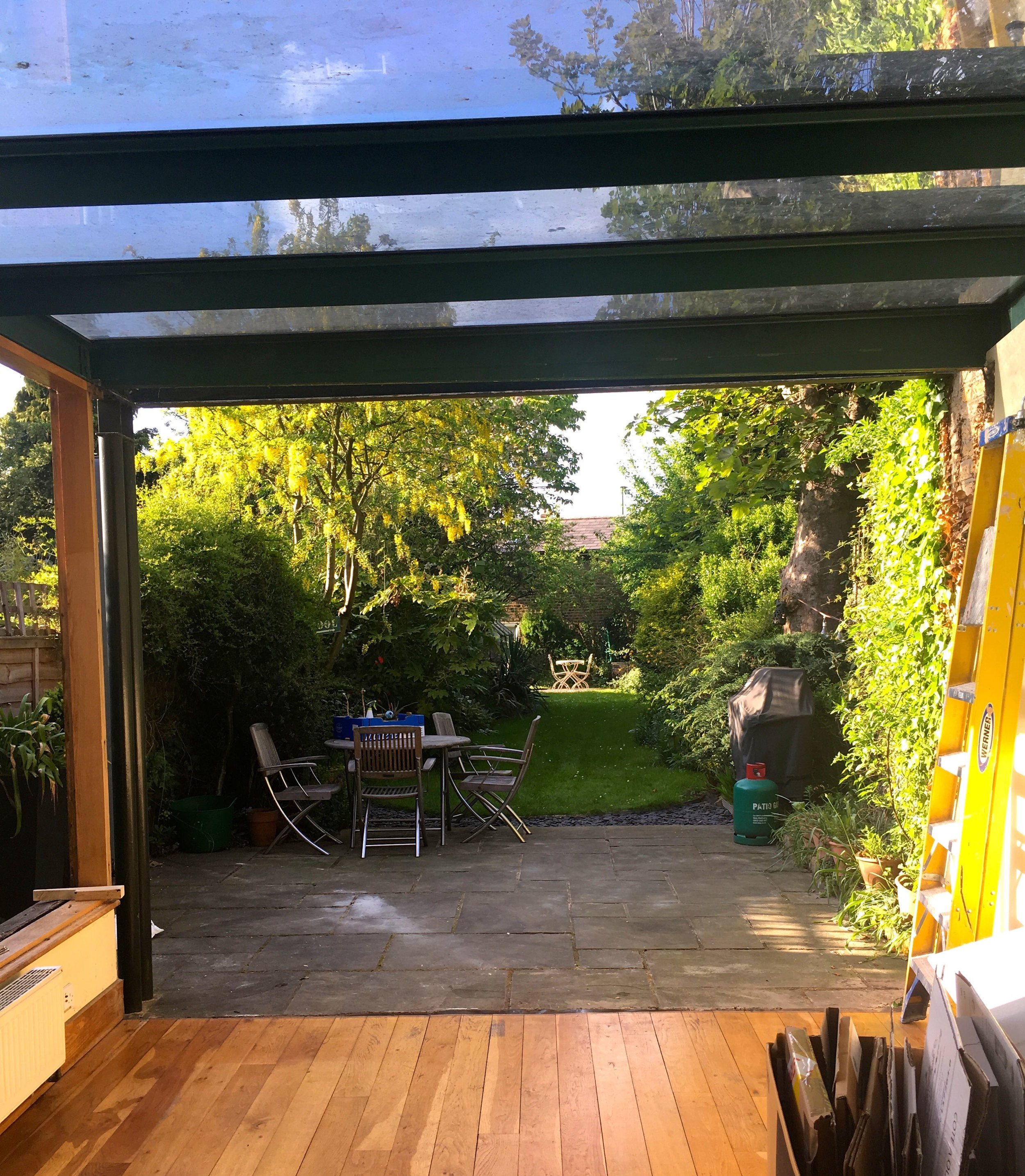 """Our new """"open"""" look conservatory"""