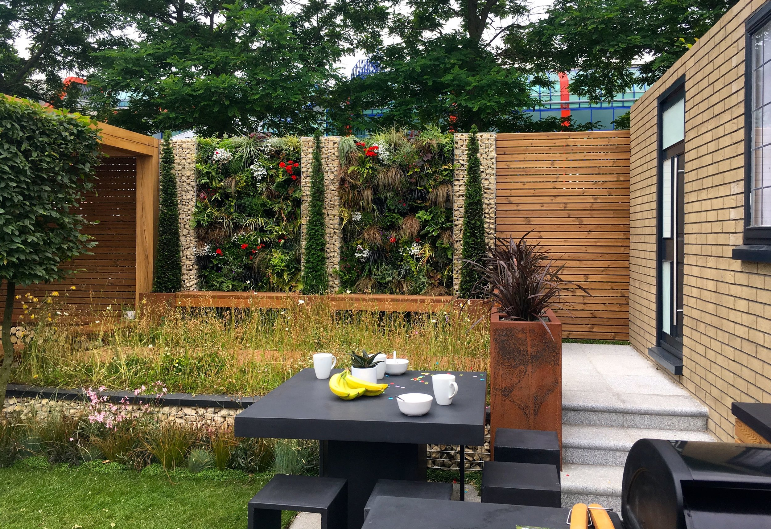 A calming tranquil garden space at Gardeners' World Live