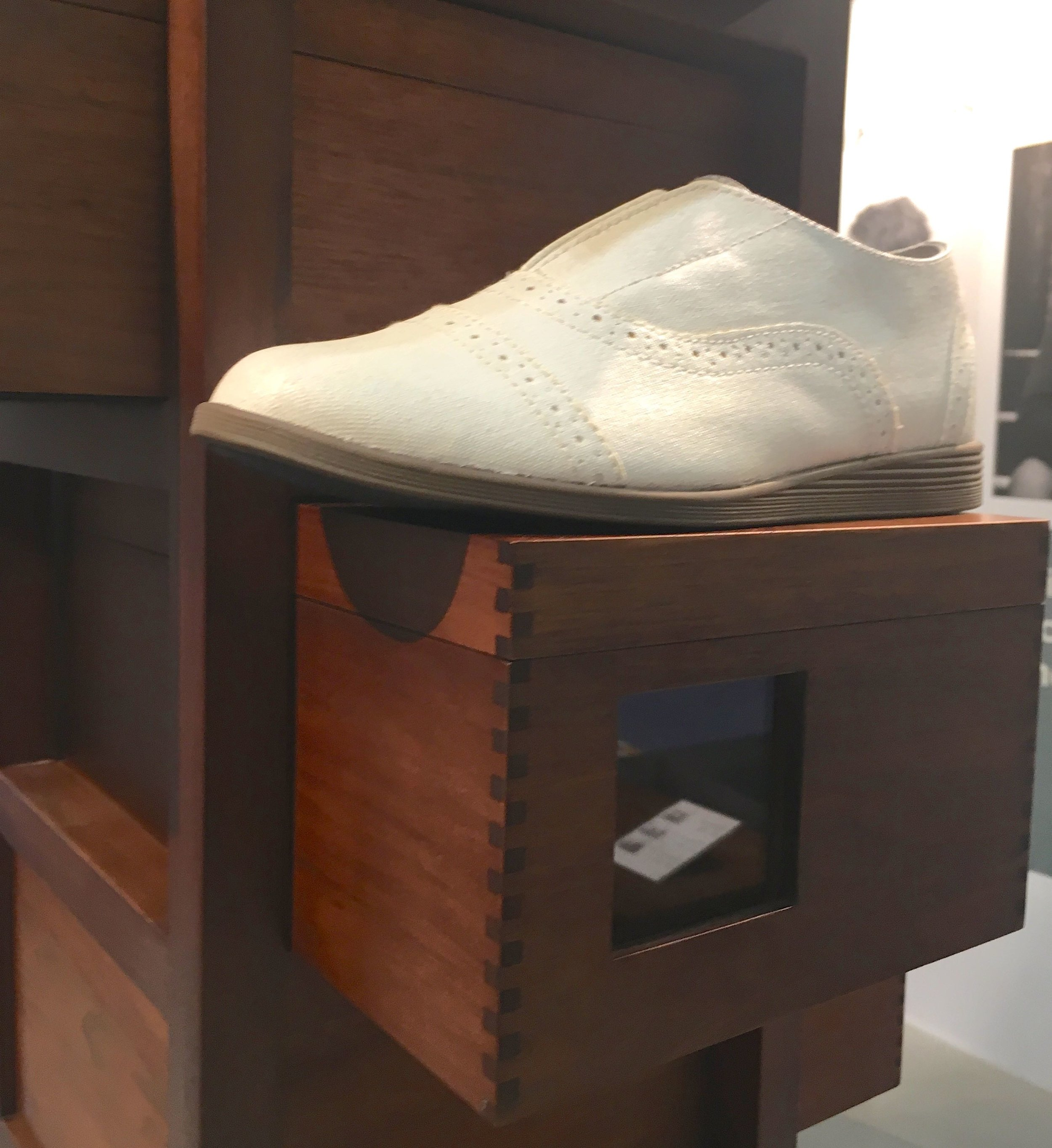 Nifty shoe storage at Grand Designs Live