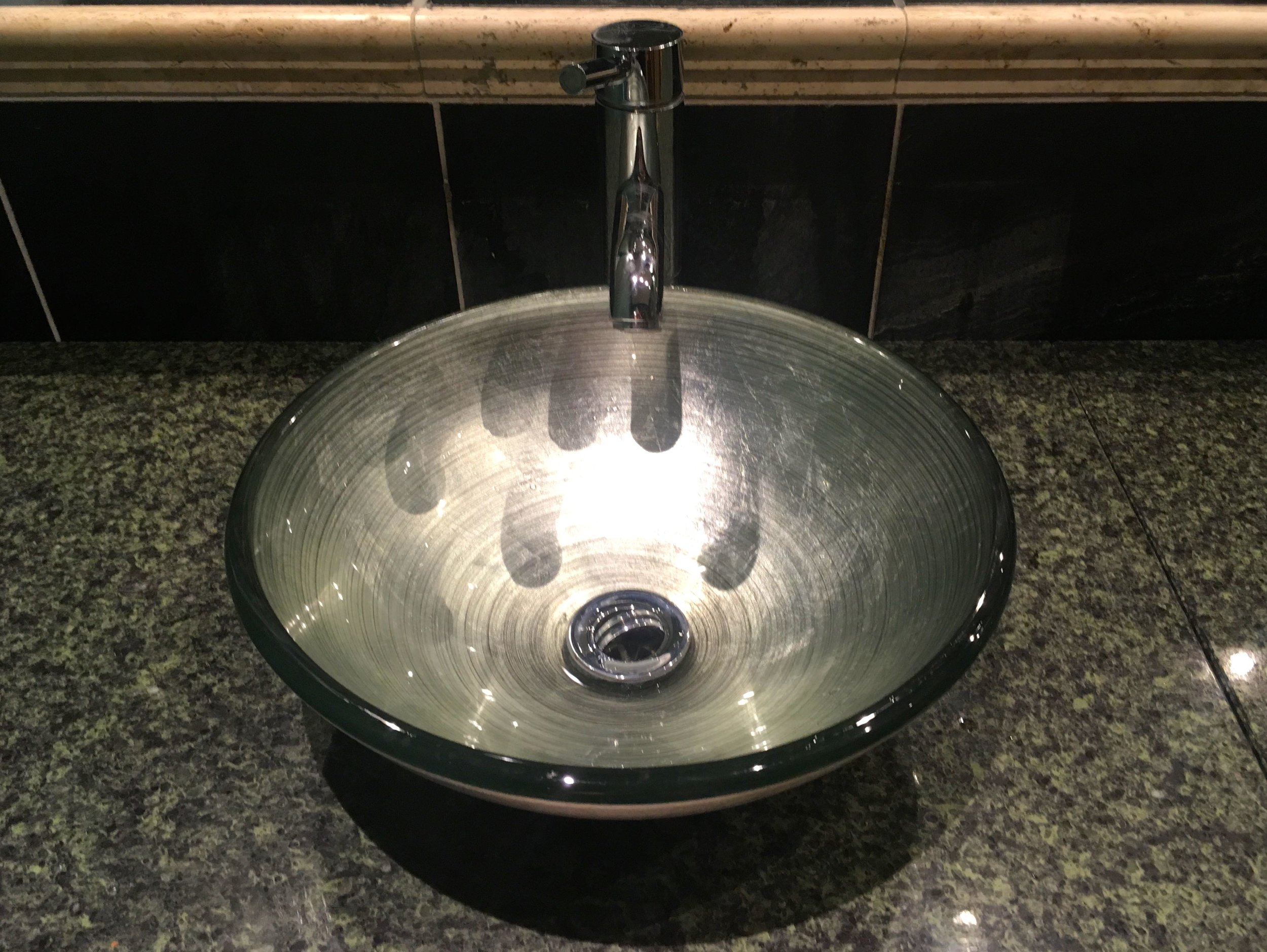 A change in sink too at Alexander's House Hotel