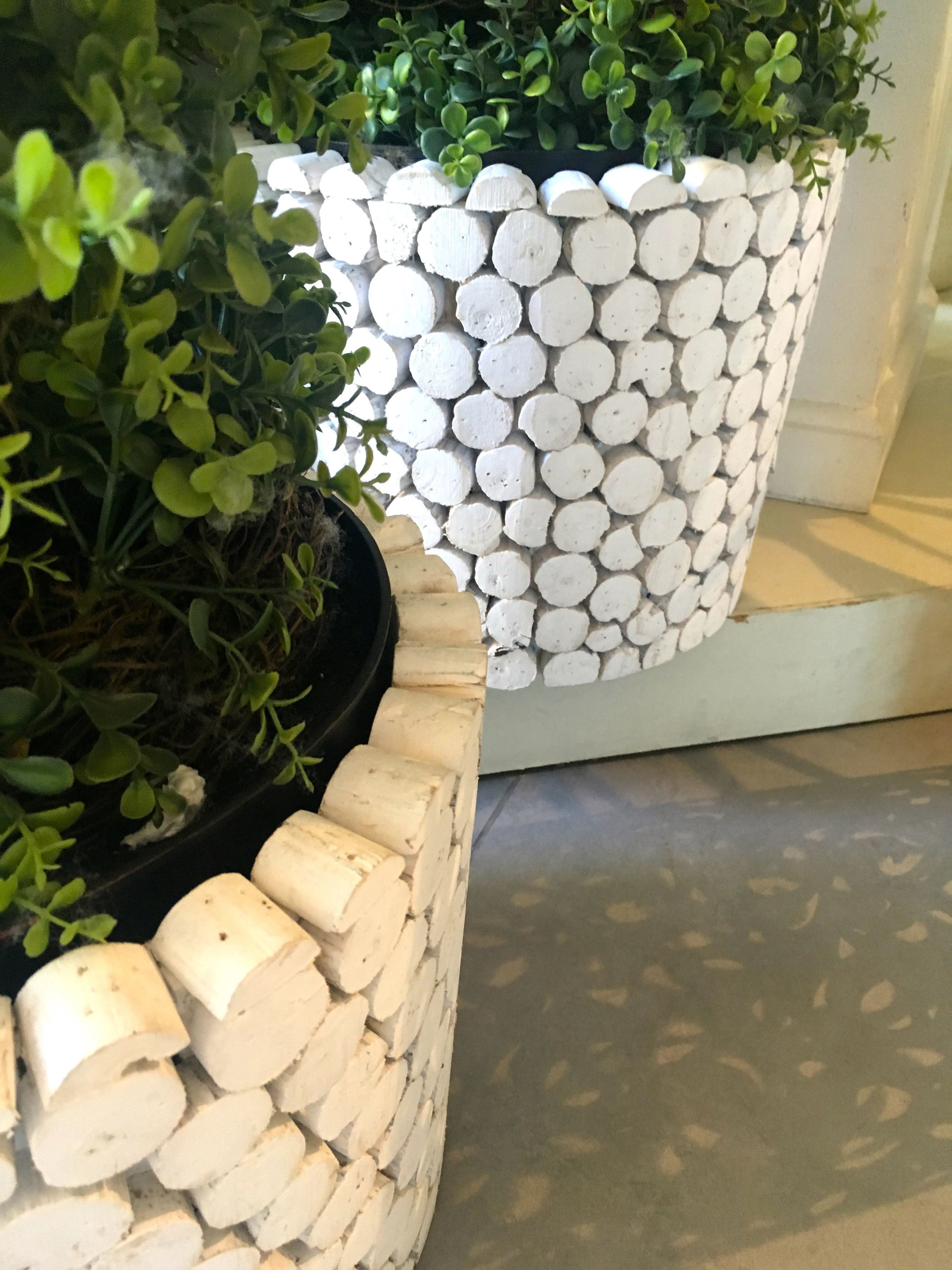 A closer look at the planters