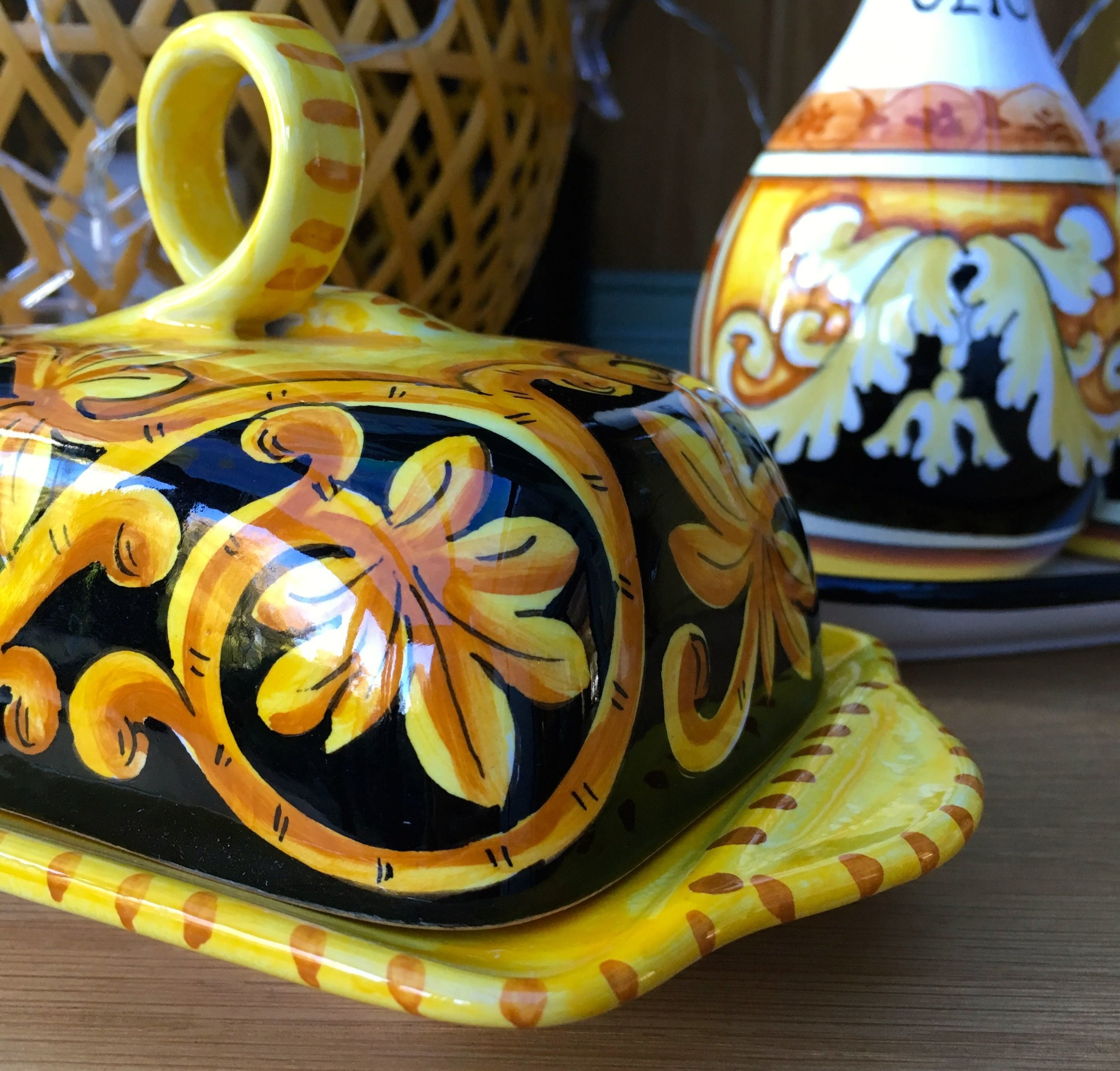 A closer look at my new butter dish