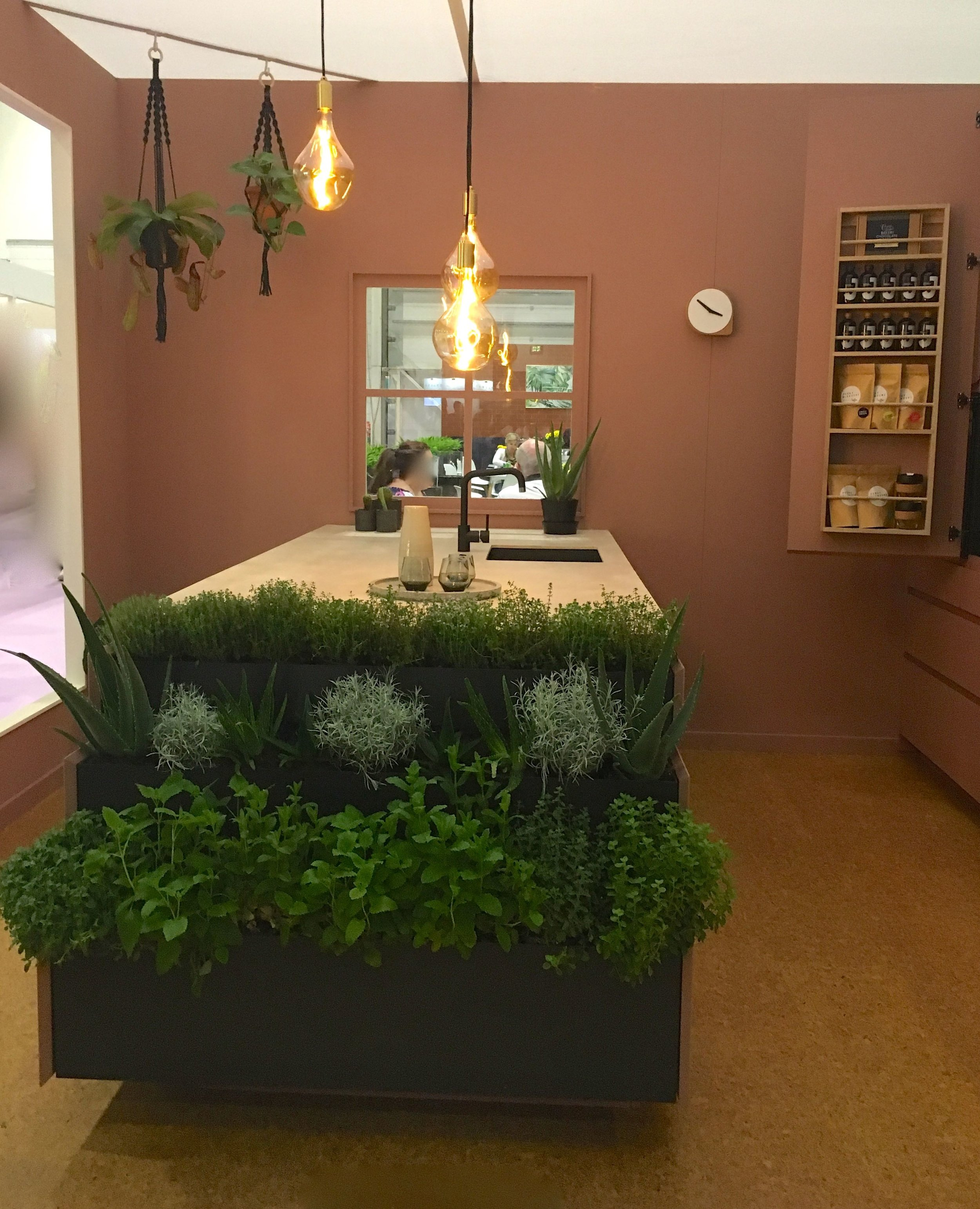Herbs at hand in this roomset at Grand Designs Live