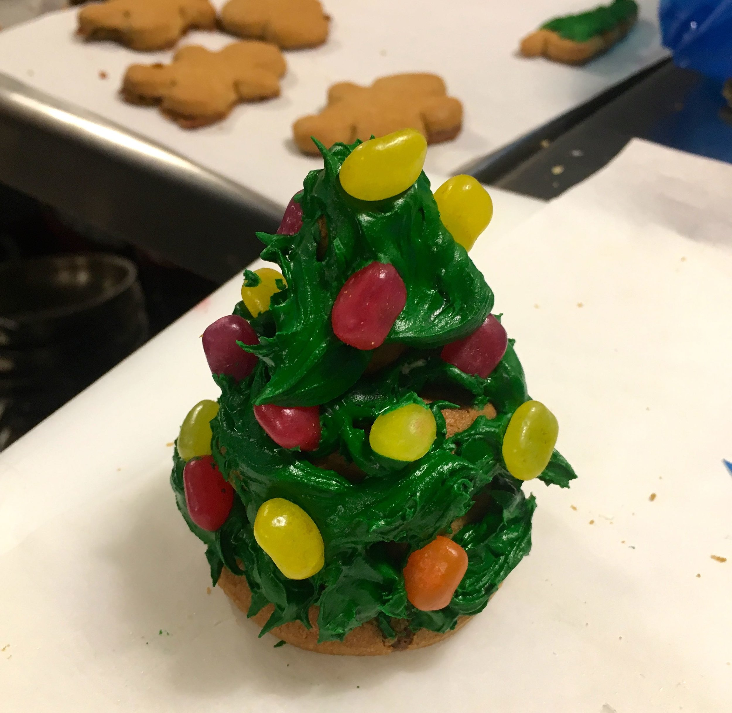 My 3D gingerbread christmas tree