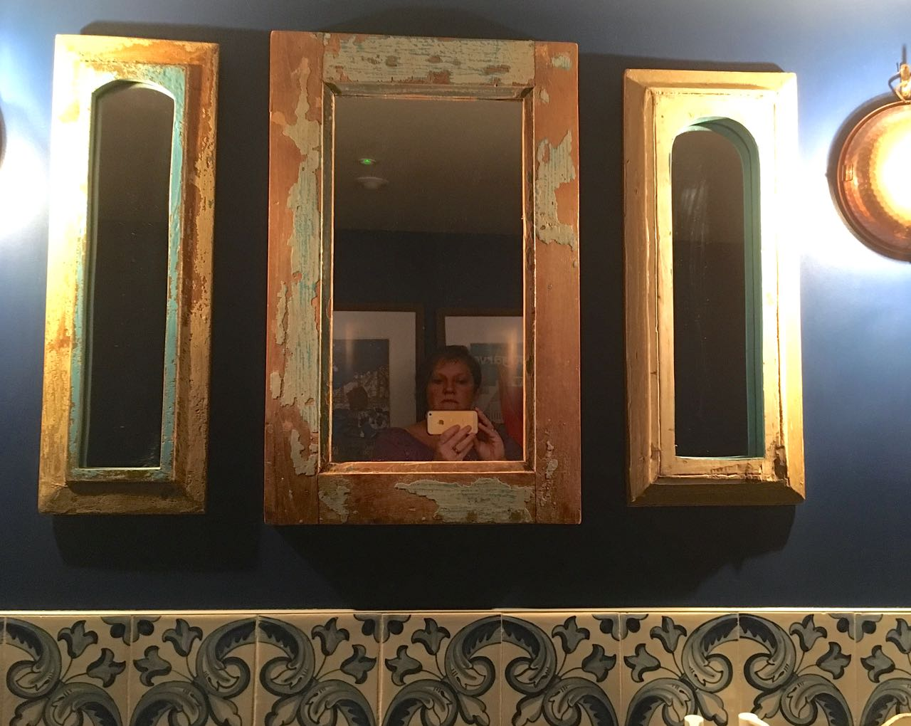 mirrors with character