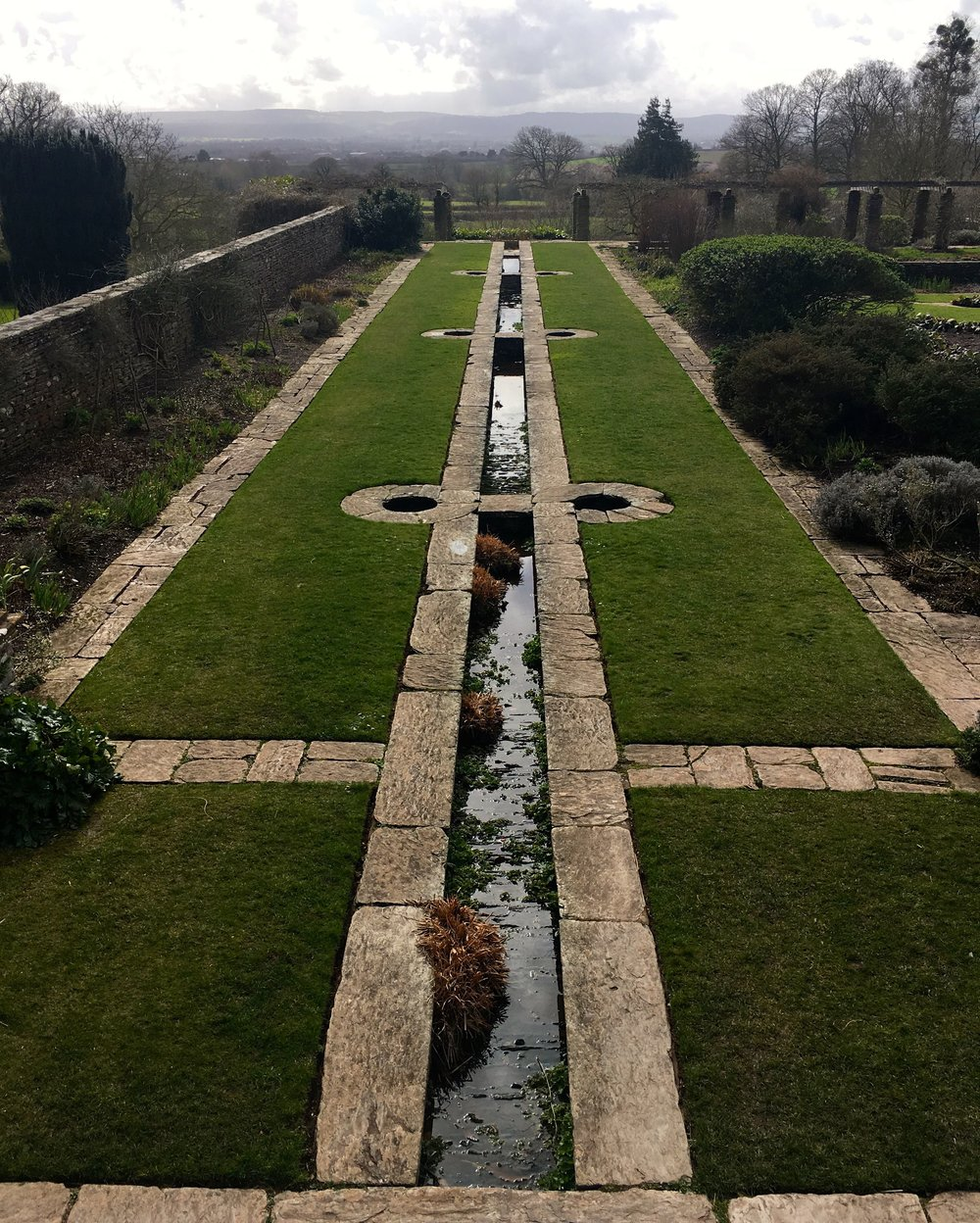 MAY:  THE EDWARDIAN FORMAL GARDEN AT HESTERCOMBE