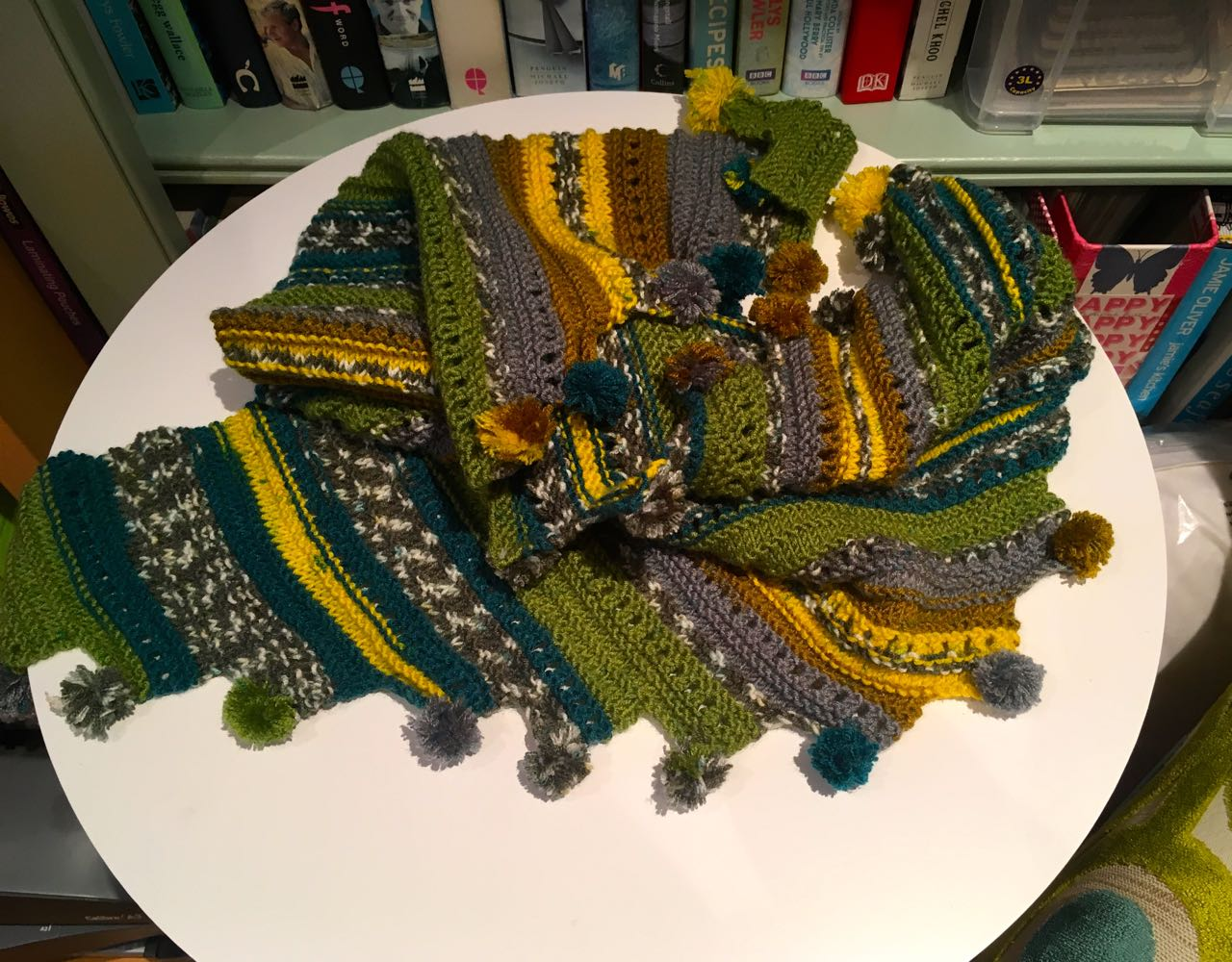 My new hand made scarf