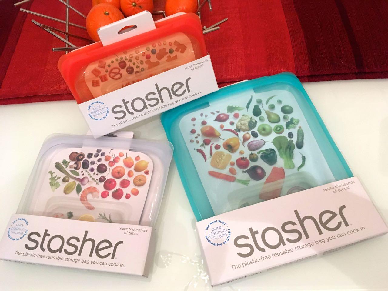 Stasher reusable plastic-free storage bag