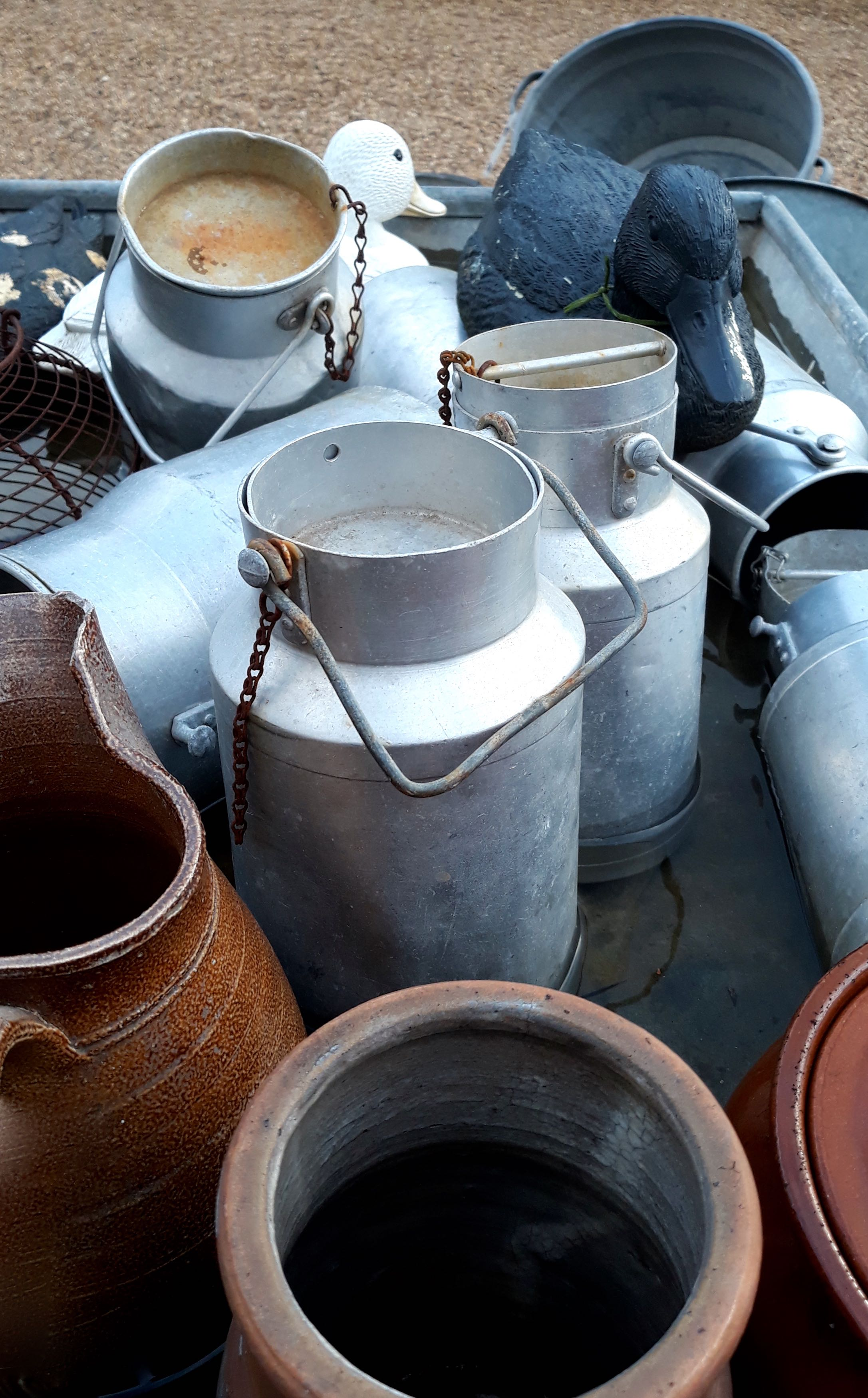 MILK CHURNS TOO
