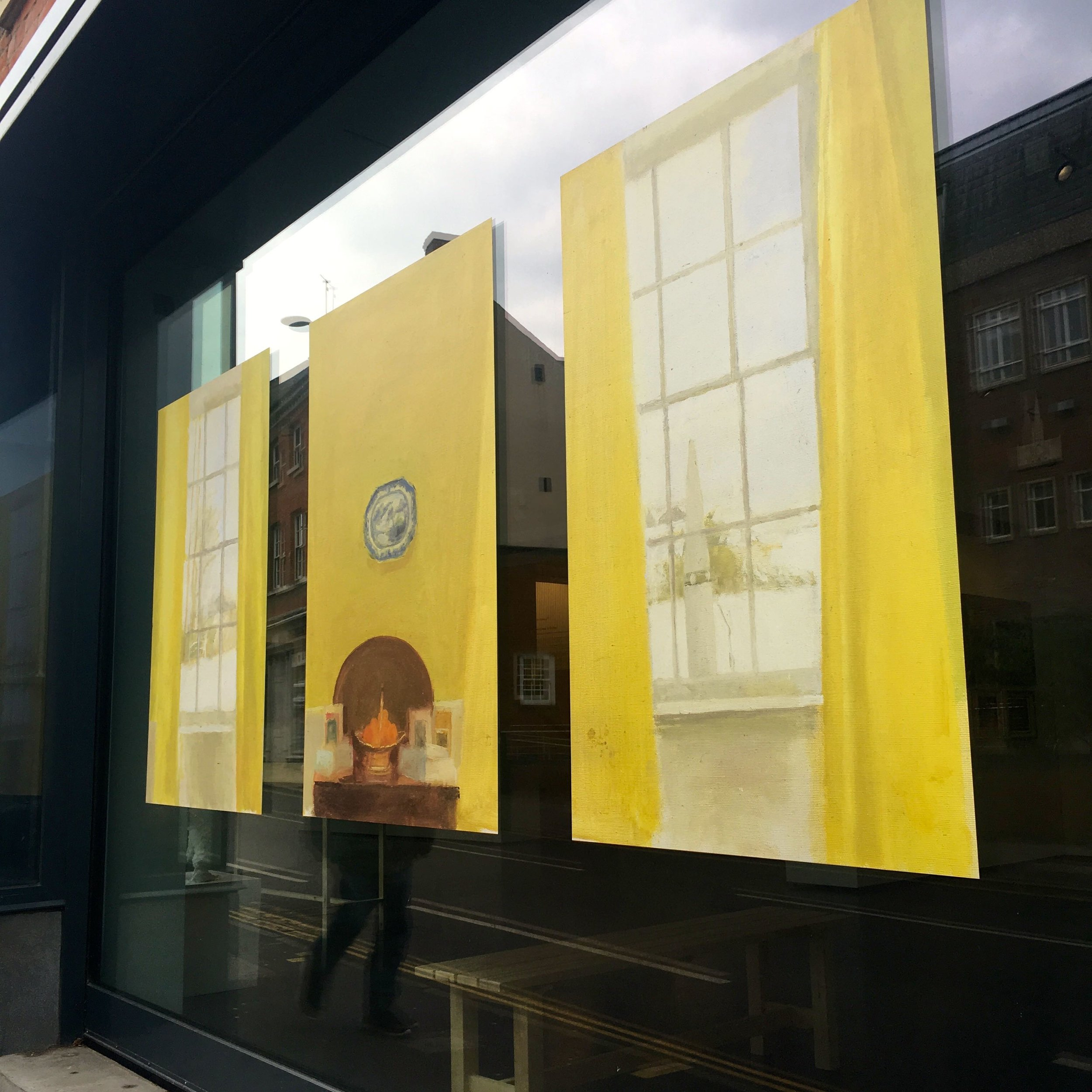 Around Norwich - an interesting window display
