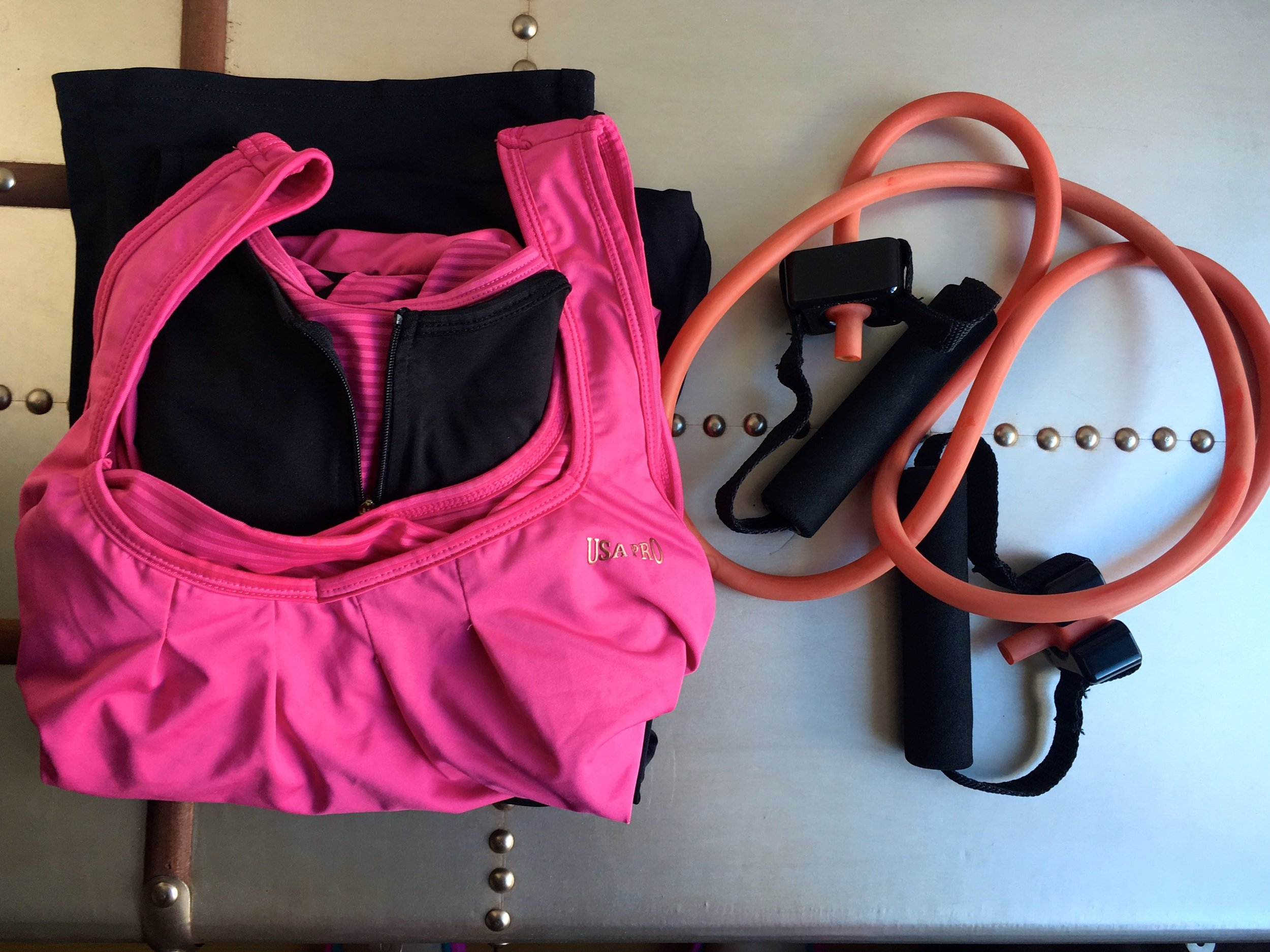 exercise gear ready for use