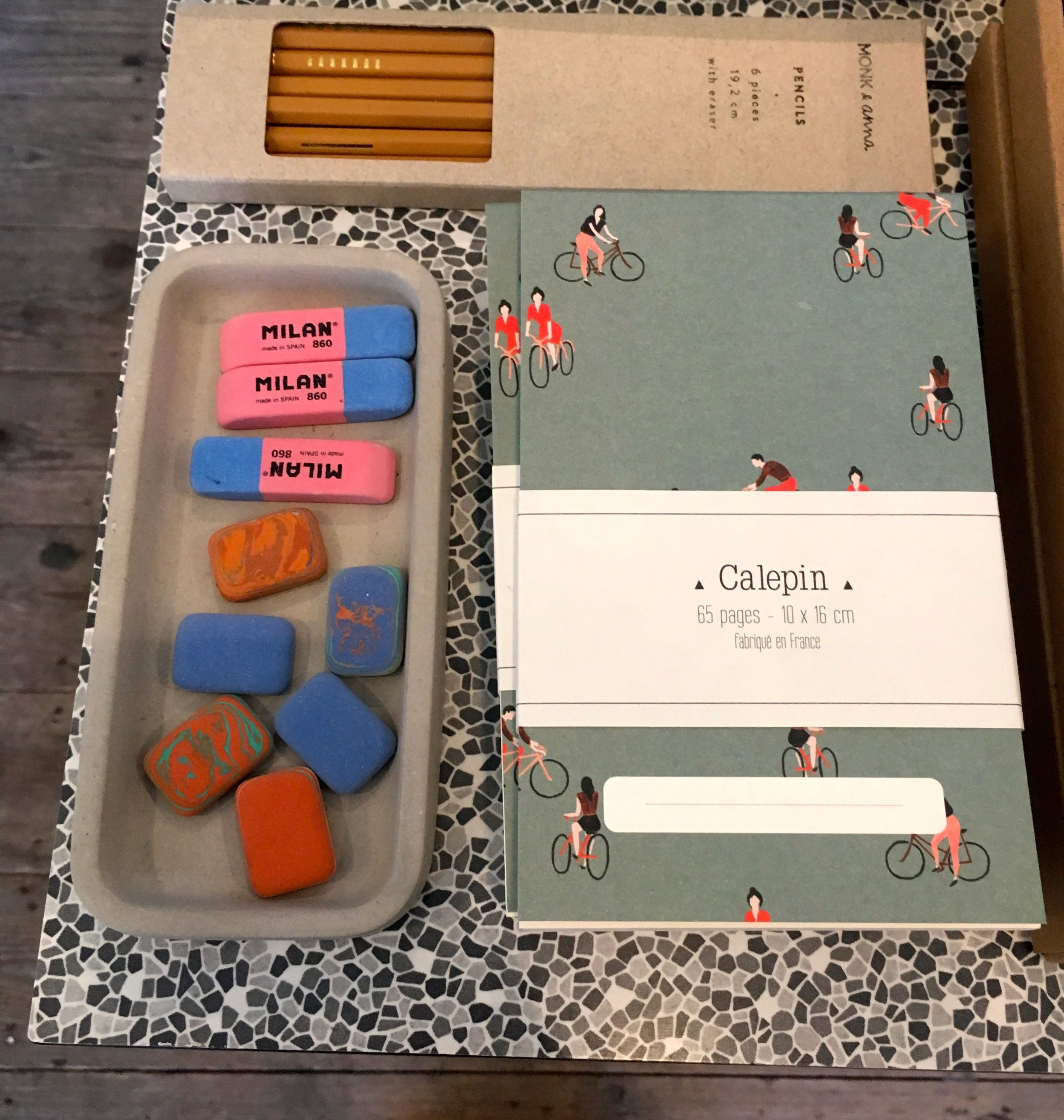pencils, rubbers and more notebooks.jpg