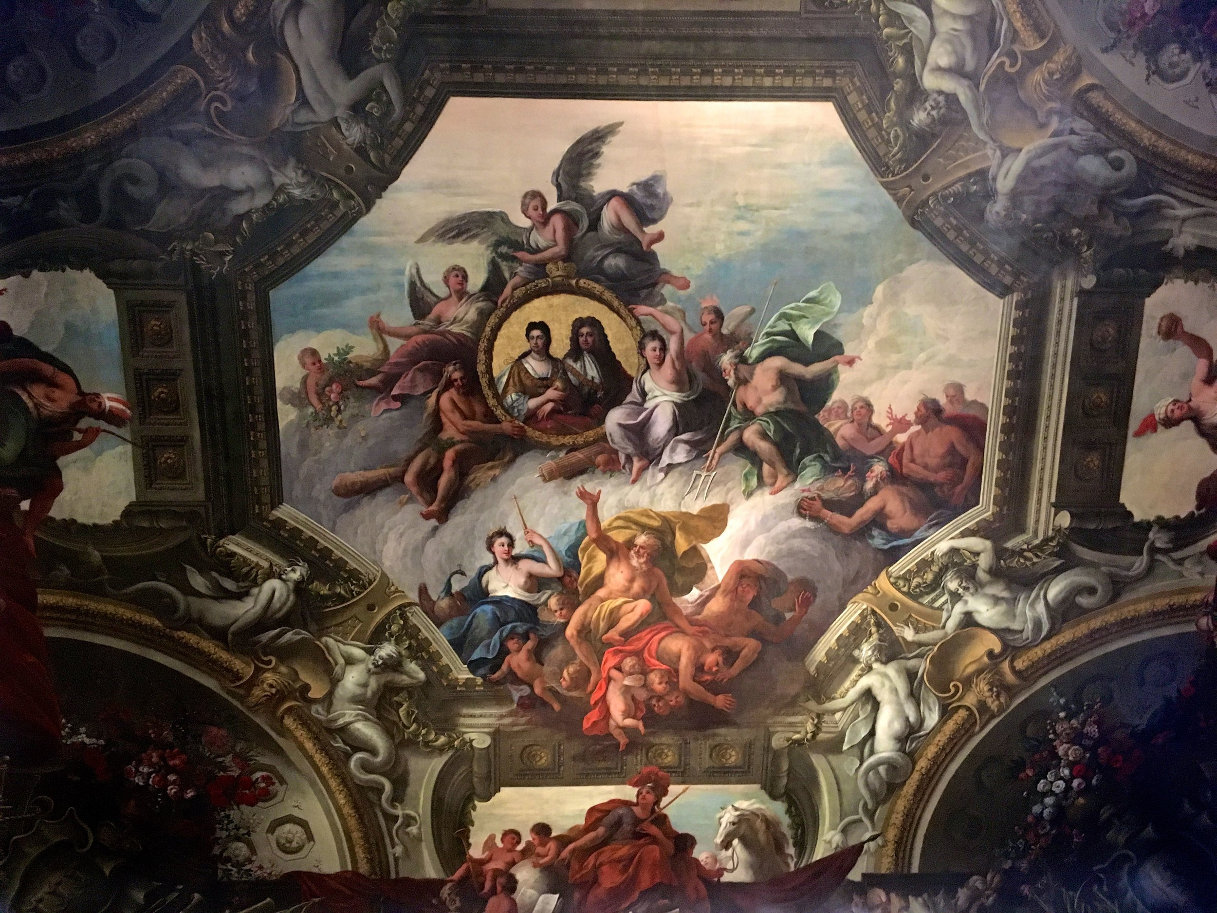 The Painted Hall in Greenwich