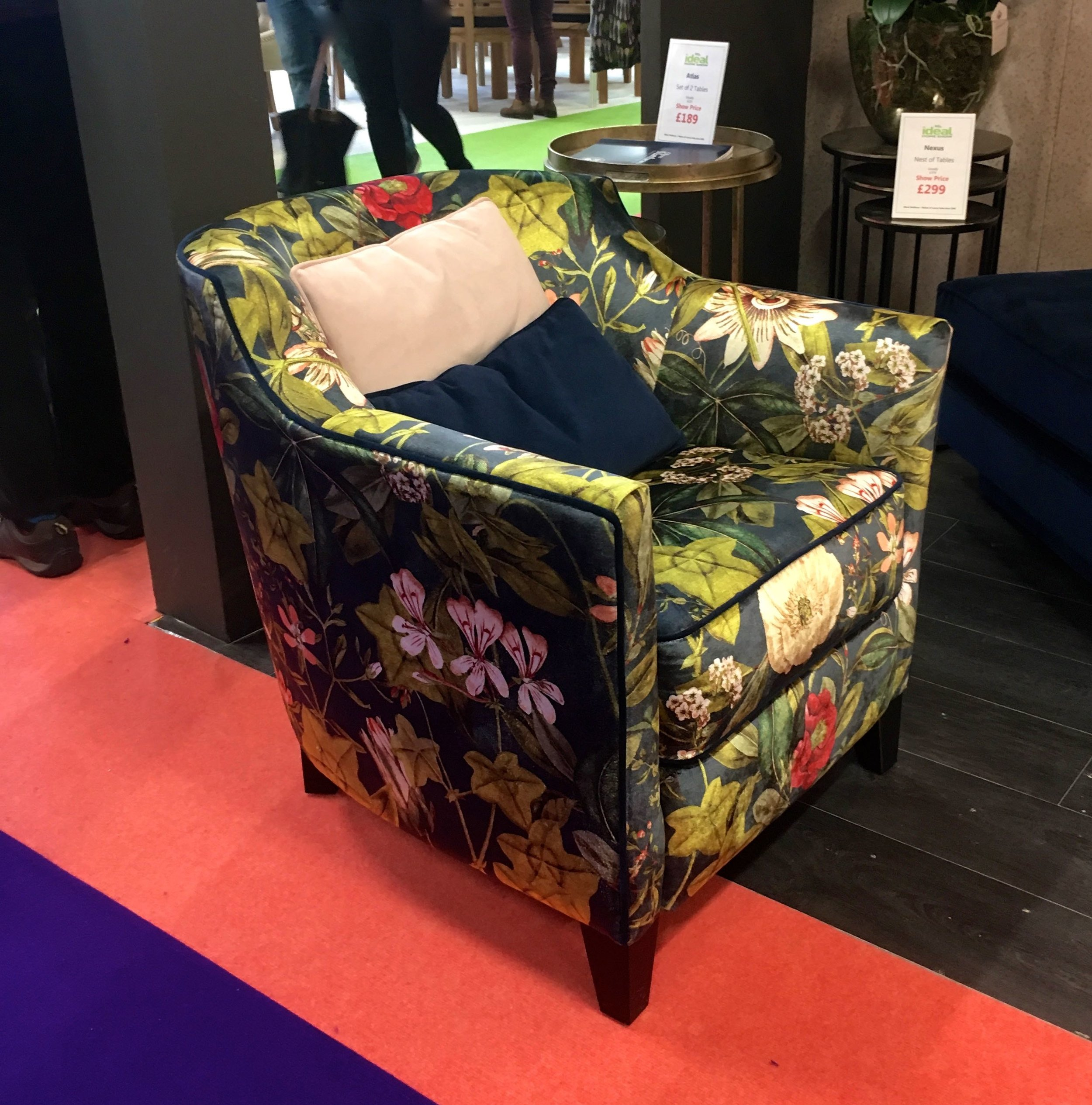 A PATTERNED CHAIR