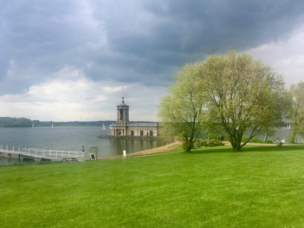 NORMANTON CHURCH AT RUTLAND WATER