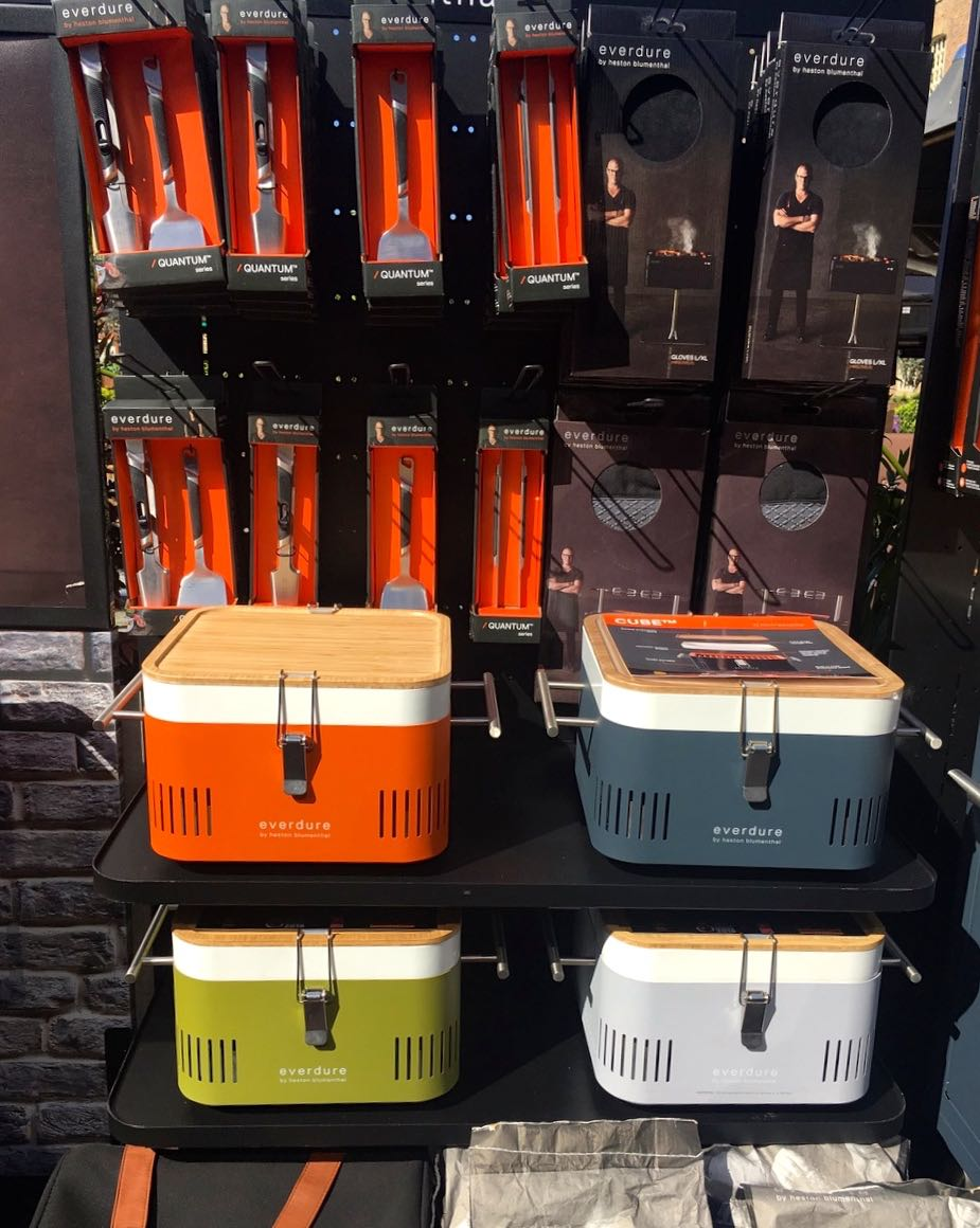 Accessories and portable/table top barbecues too