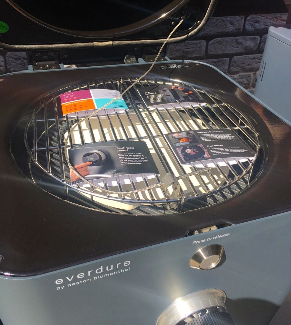 a look inside the 4k everdure barbecue
