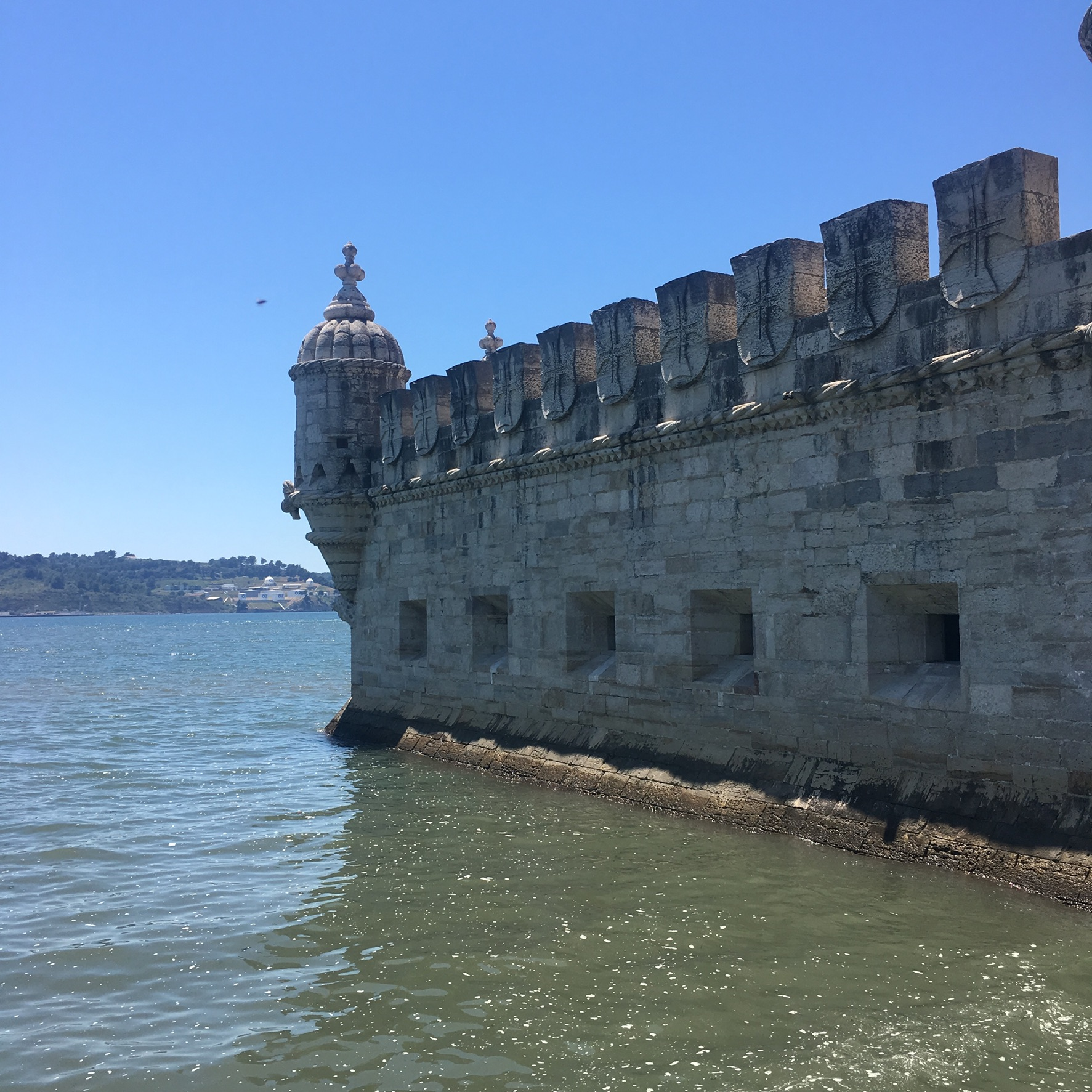 WAITING TO GO INTO BELÉM TOWER