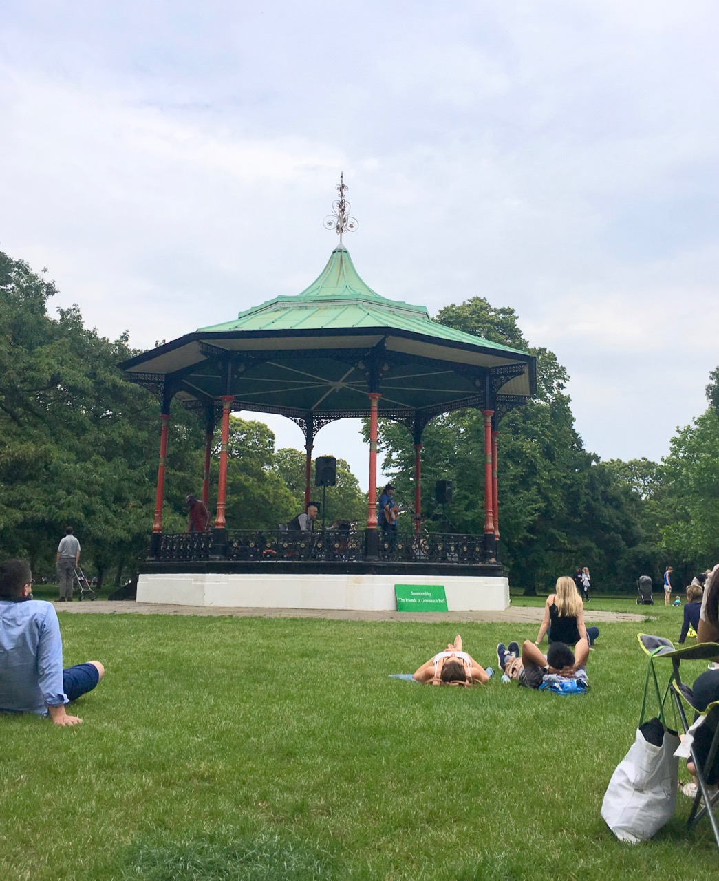 The bandstand concerts in Greenwich Park