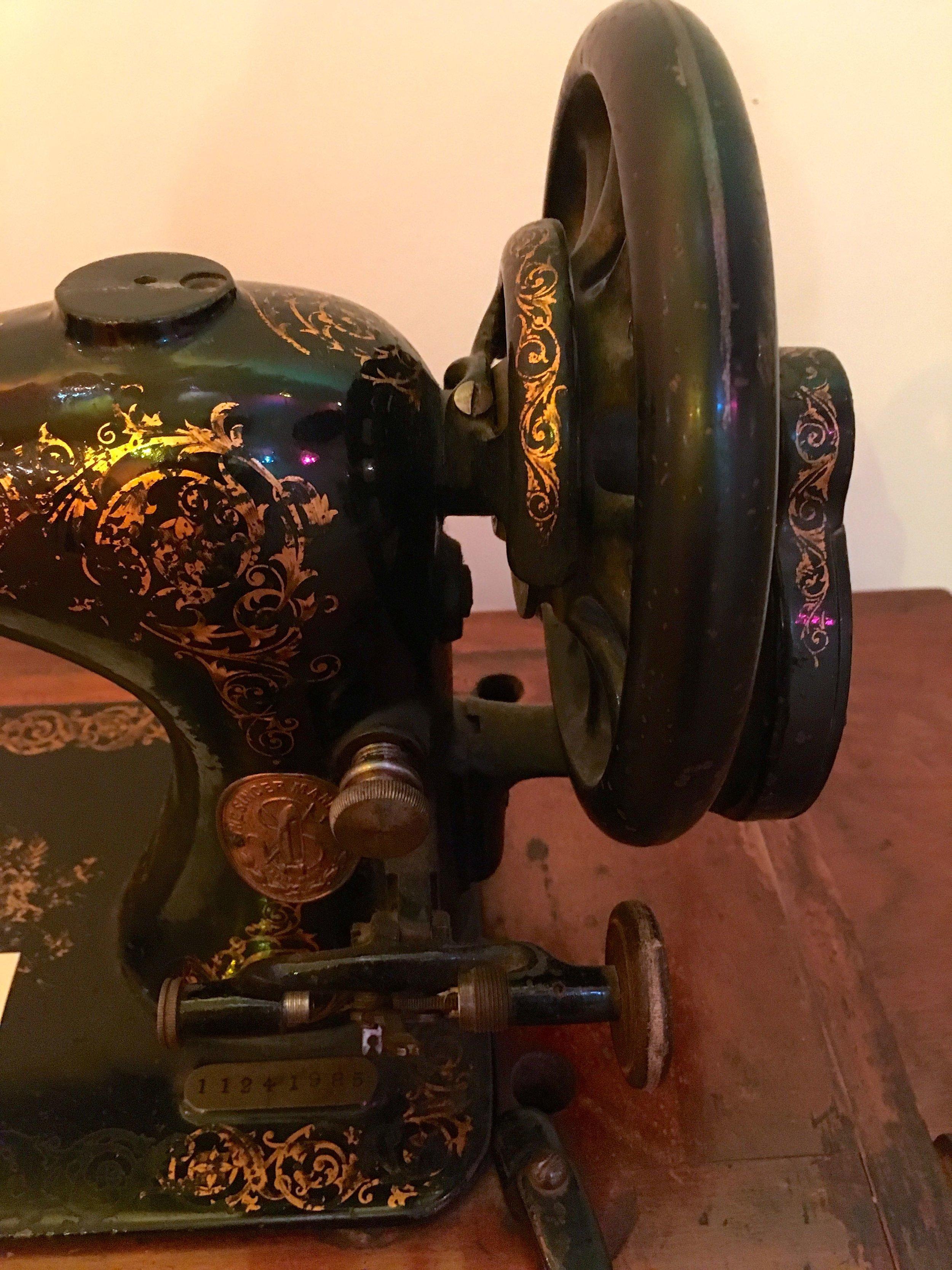 sewing machine at Killerton NT