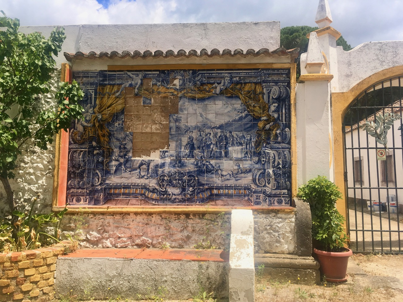 Gates and Azulejo tiles