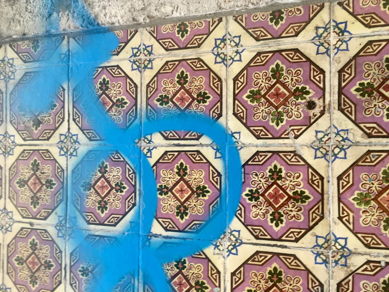 TILES, WITH A QUESTIONABLE ADDITION IN LISBON