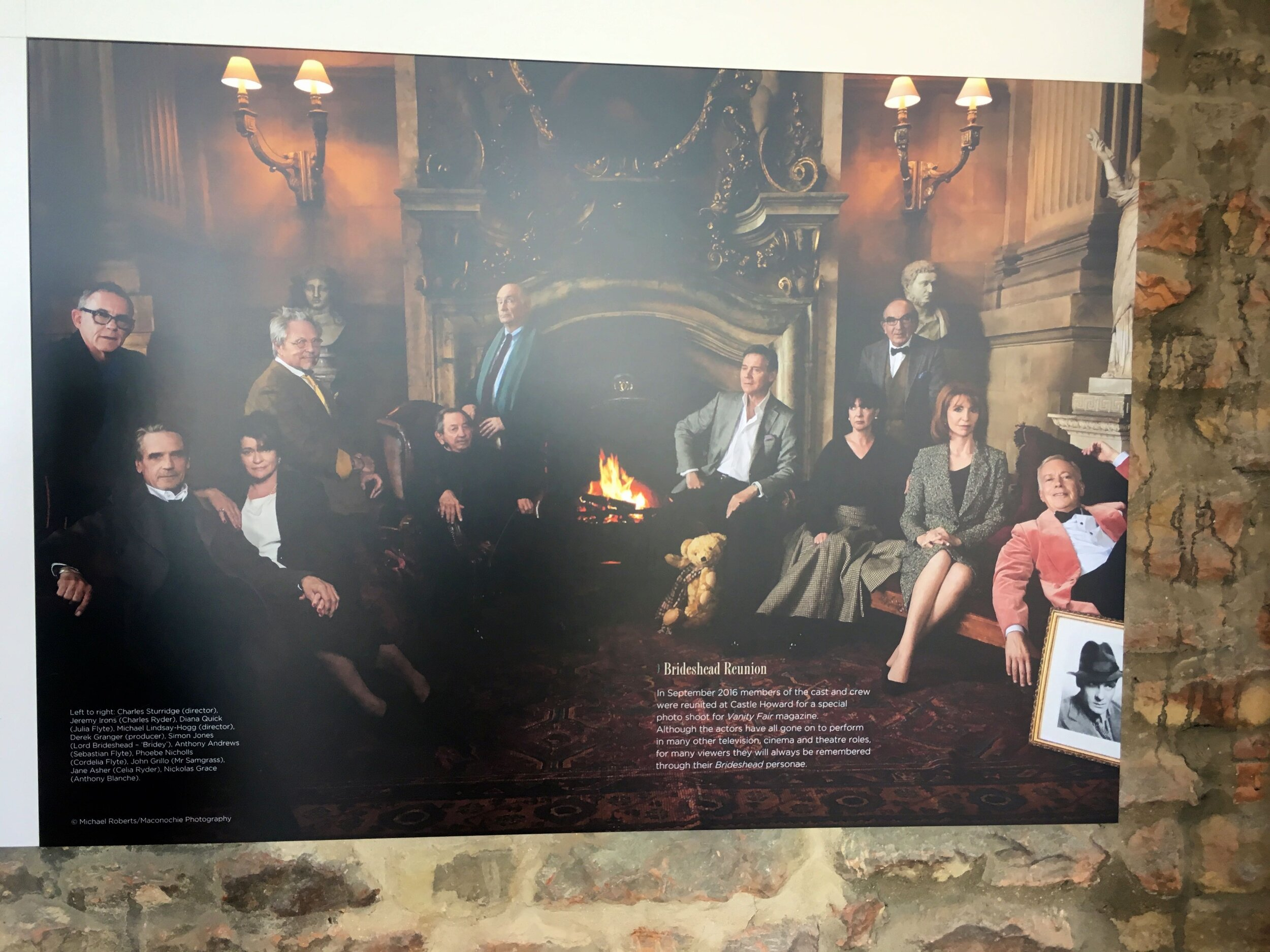 a peak at the cast from Brideshead Revisited together again