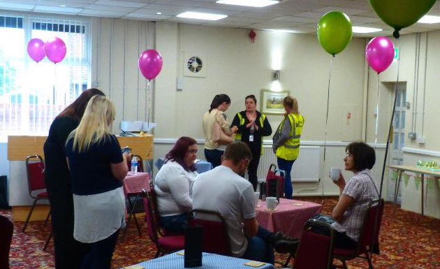 We had a great turn out, for the 'Tea & Chat' event we held, during Mental Health Awareness week 2017.