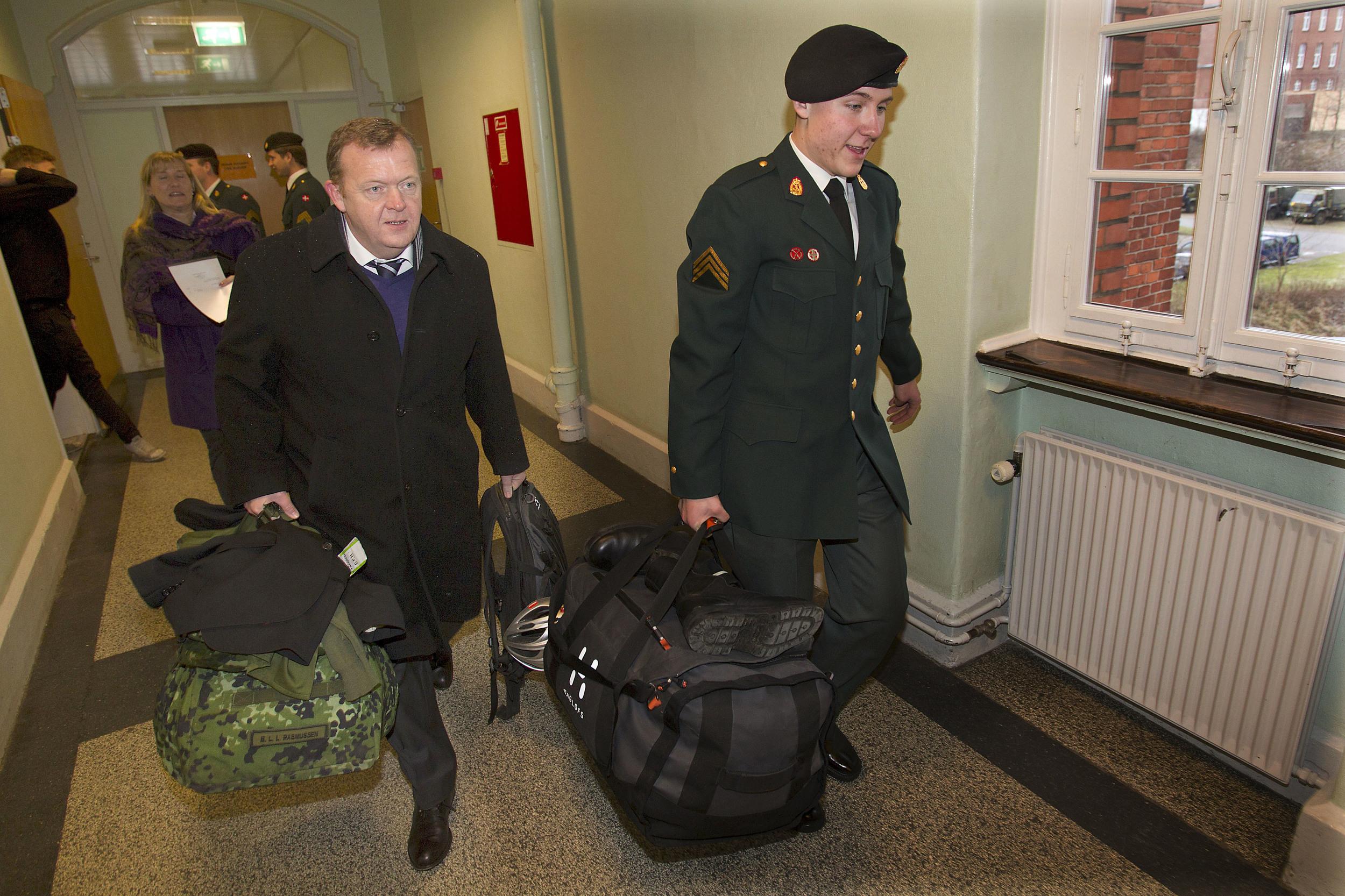 Lars Løkke Rasmussen og Bergur Løkke Rasmussen