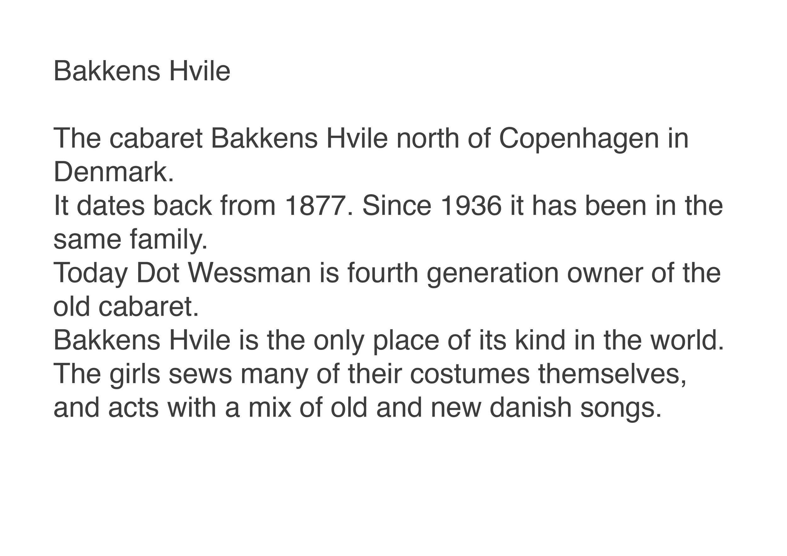 Bakkens Hvile Copenhagen