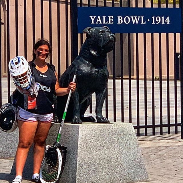 Congratulations to incoming Sophomore Goalkeeper Alina O'Farrell who was selected from the Midwest Region for @prowomenslax Futures Championships, and competed at @yaleathletics this past week! #BeTheBuffalo #RepThePrep