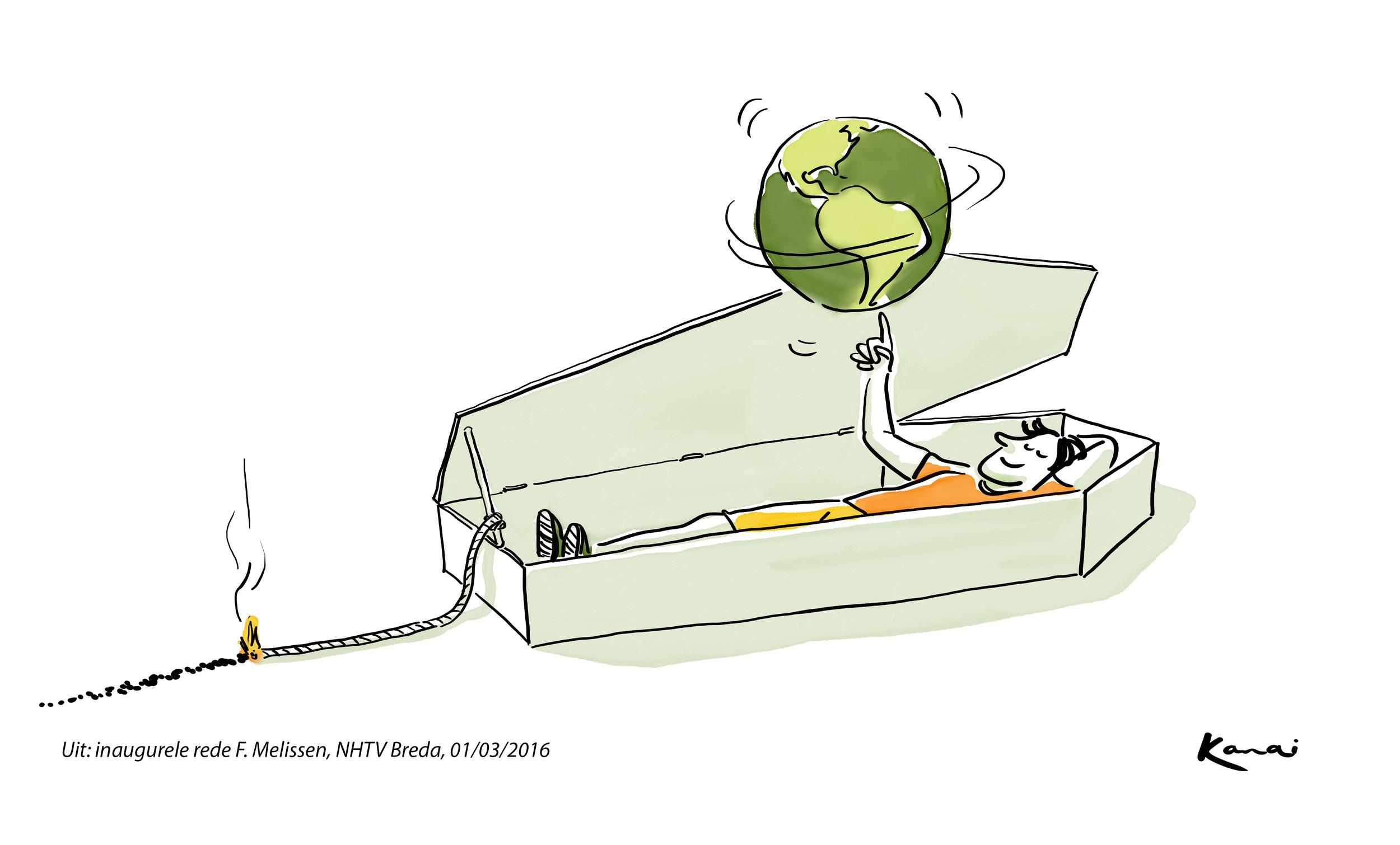 """Pandora's casket"", volgens Richard Sennett"