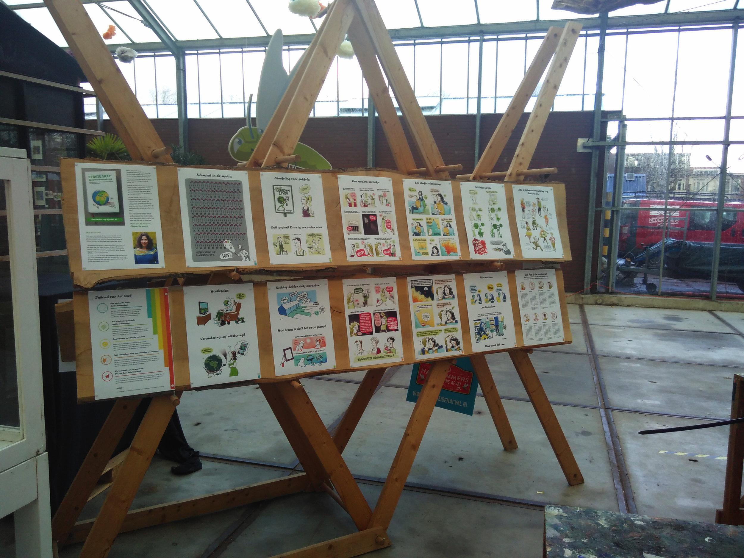 Expo van cartoons