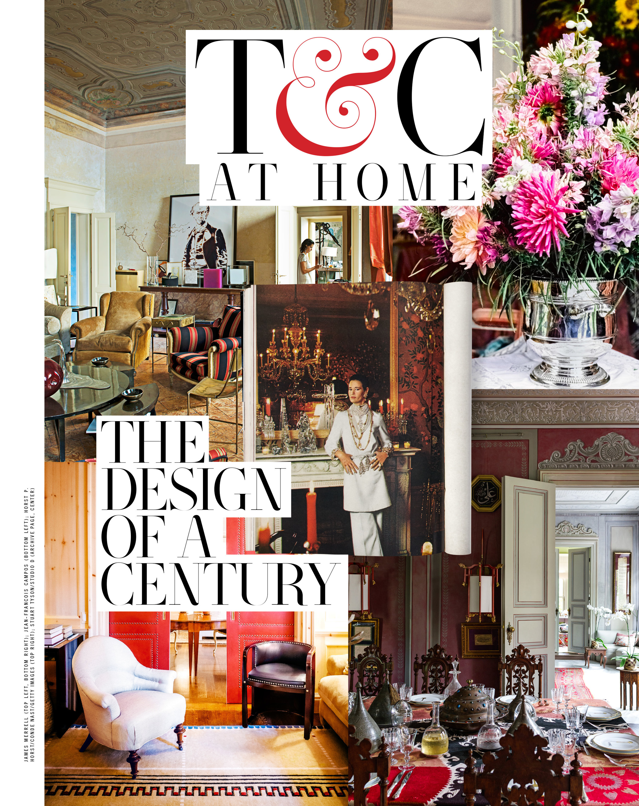 Advertiser-sponsored '100 Years of Design' package art directed and designed for   Town&Country  .