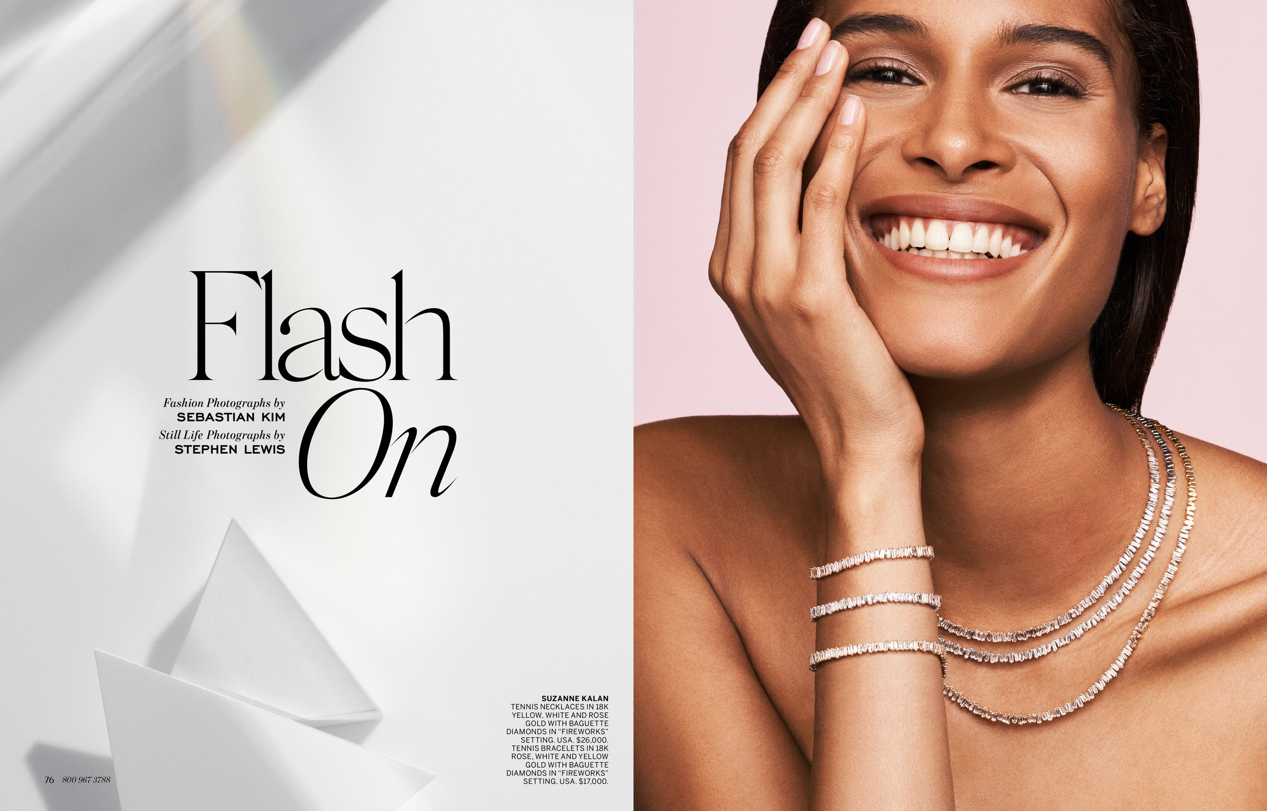 Features and Front-of-Book editorial pages designed for  Bergdorf Goodman Magazine , from April 2018 through April 2019, where I served as its Art Director.  Select samples include photoshoot creative direction / concepts and subsequent on-set photo art direction, still life styling, redesigned sections and the implementation of all-new typefaces into the BG identity. Liaised between BG and its printer for the September 2018 issue to ensure proper print production and file release.