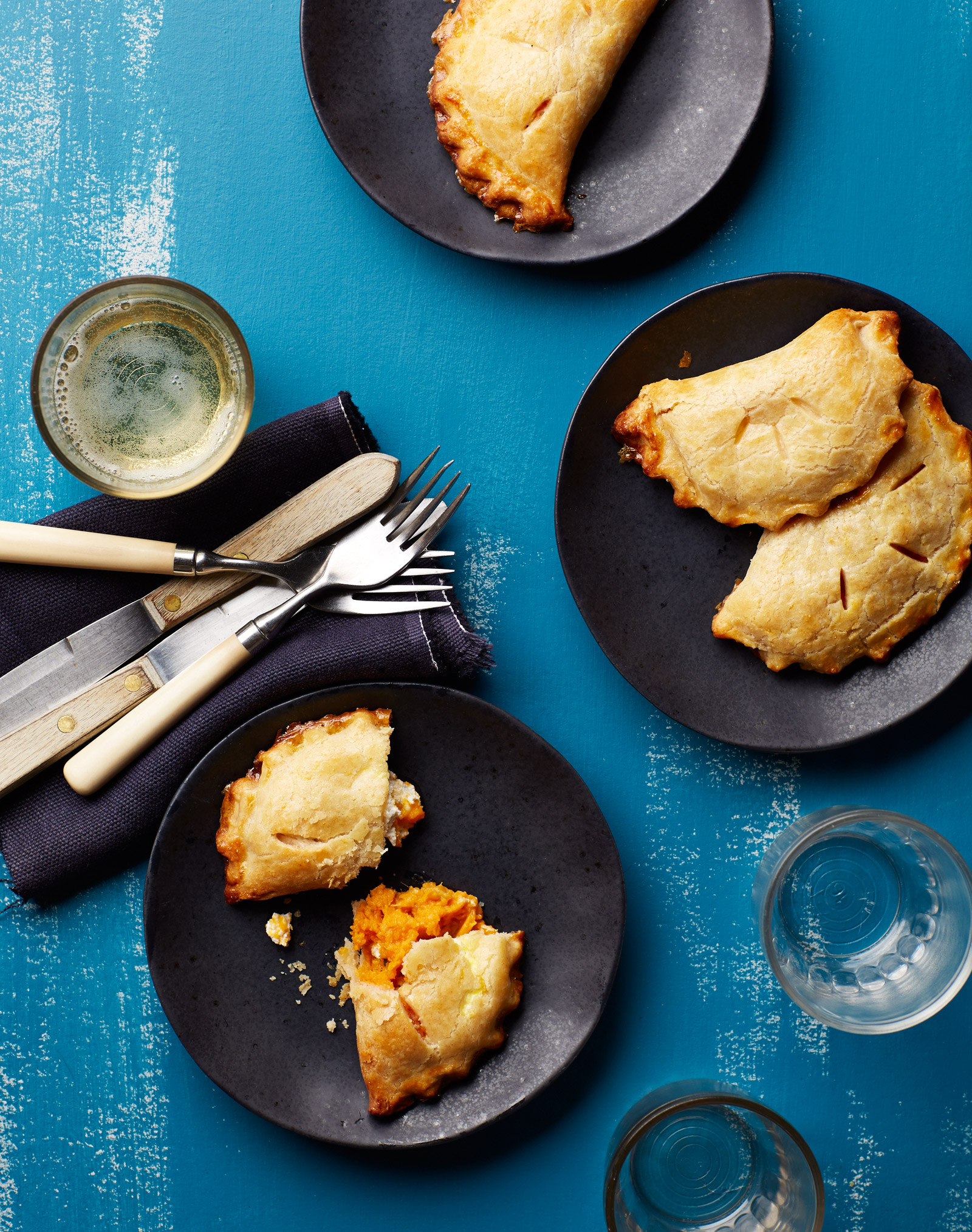 gluten free sweet potato turnover pie crust