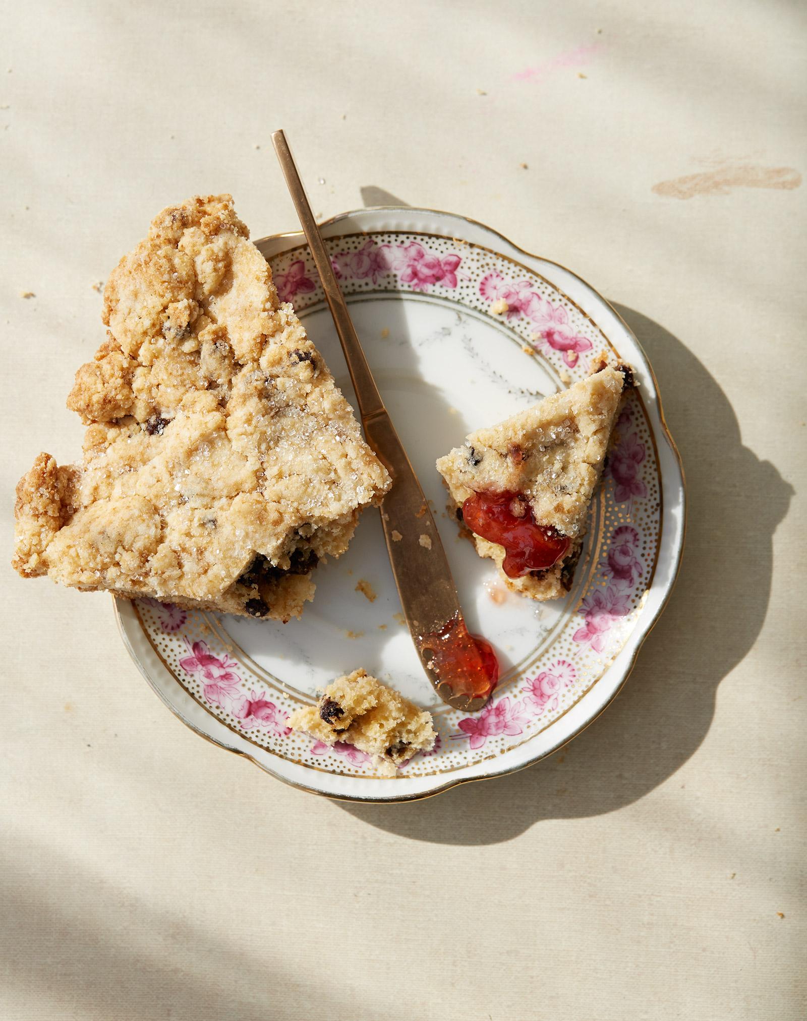 gluten free brown sugar scones