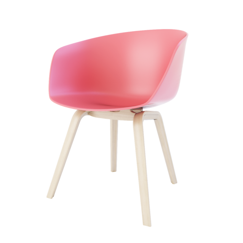about a chair by  HAY  C4D+vray/3DS+vray/FBX+OBJ 9.7mb