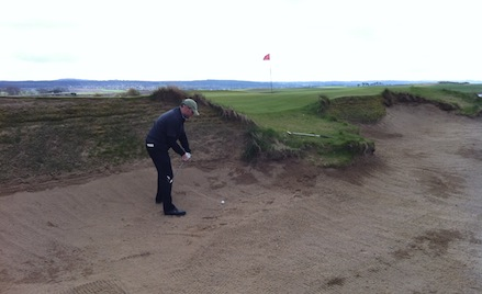 The fairways may be generous, but the bunkers are punitive