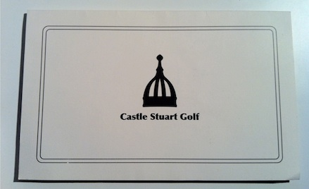 Welcome to Castle Stuart