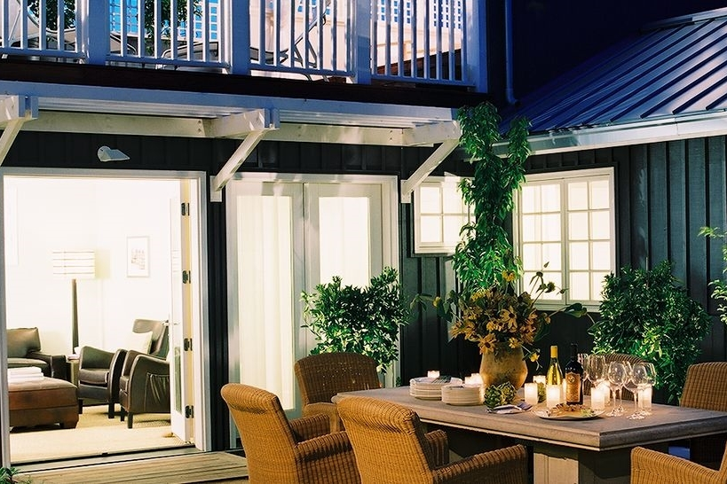 Great outdoor space at each cottage